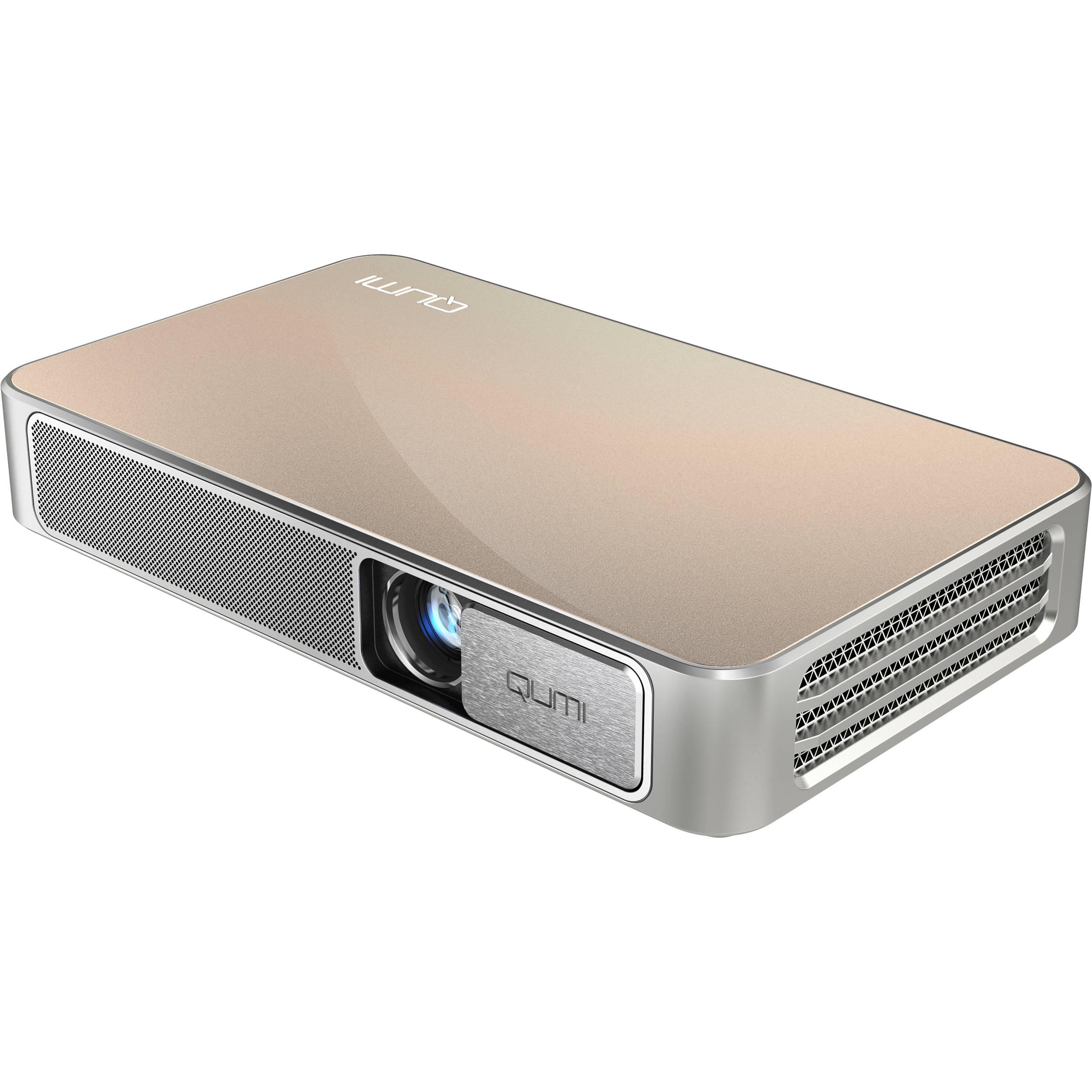 Vivitek qumi q3 plus 500 lumen hd pico projector q3 plus for Hd pico projector