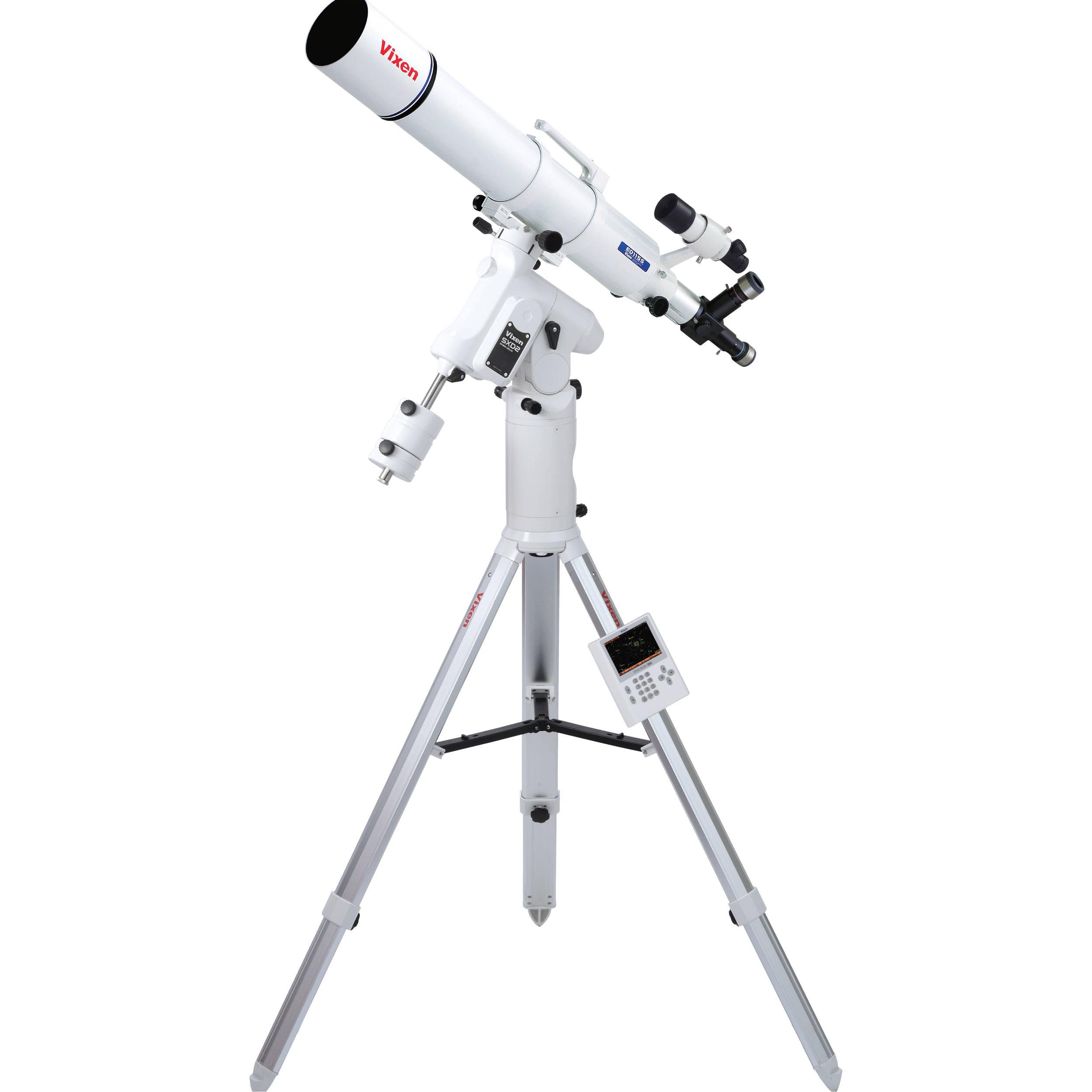 Vixen Optics Ed115s Refractor Telescope With Sxd2 Eq