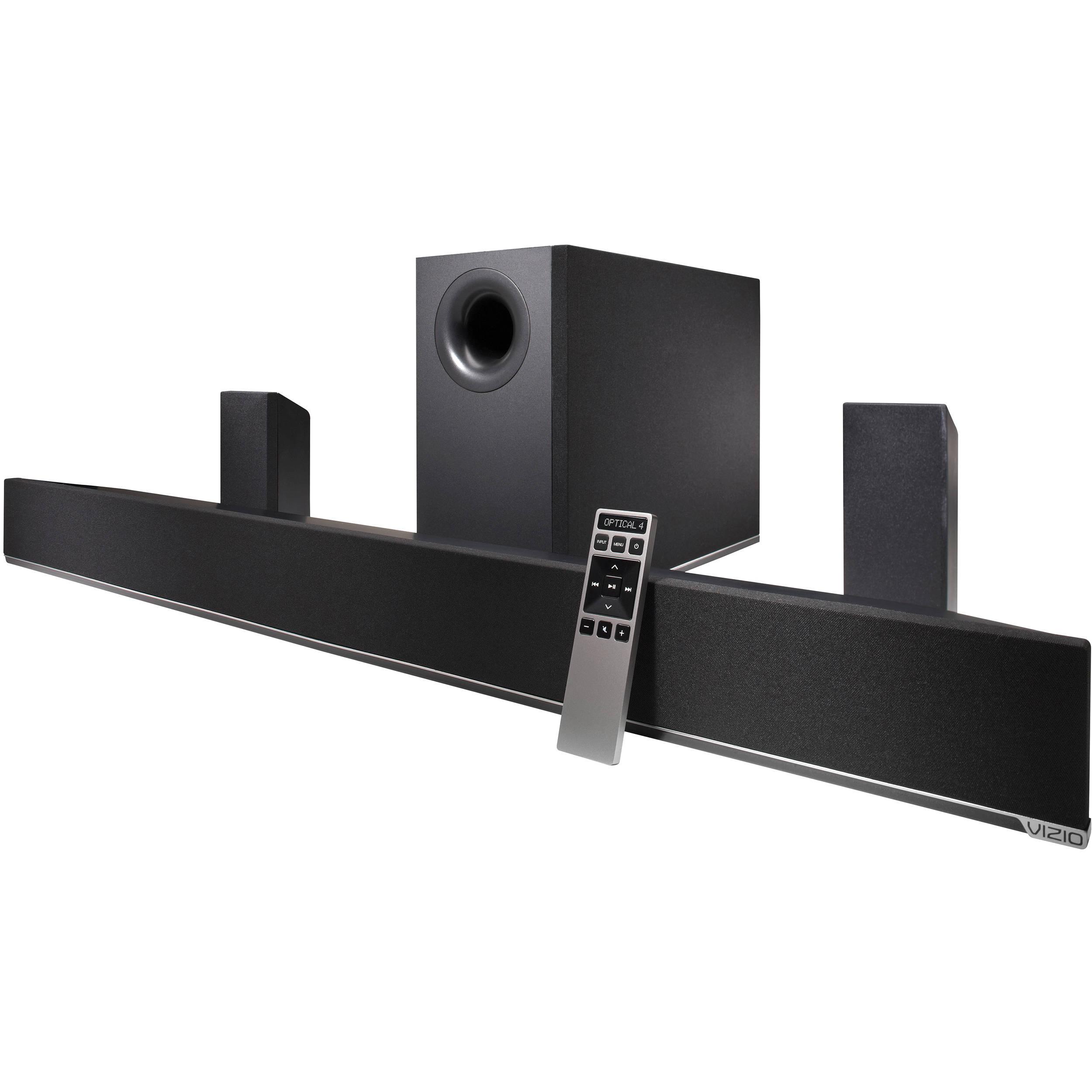 Vizio 42 5 1 Channel Soundbar Speaker System