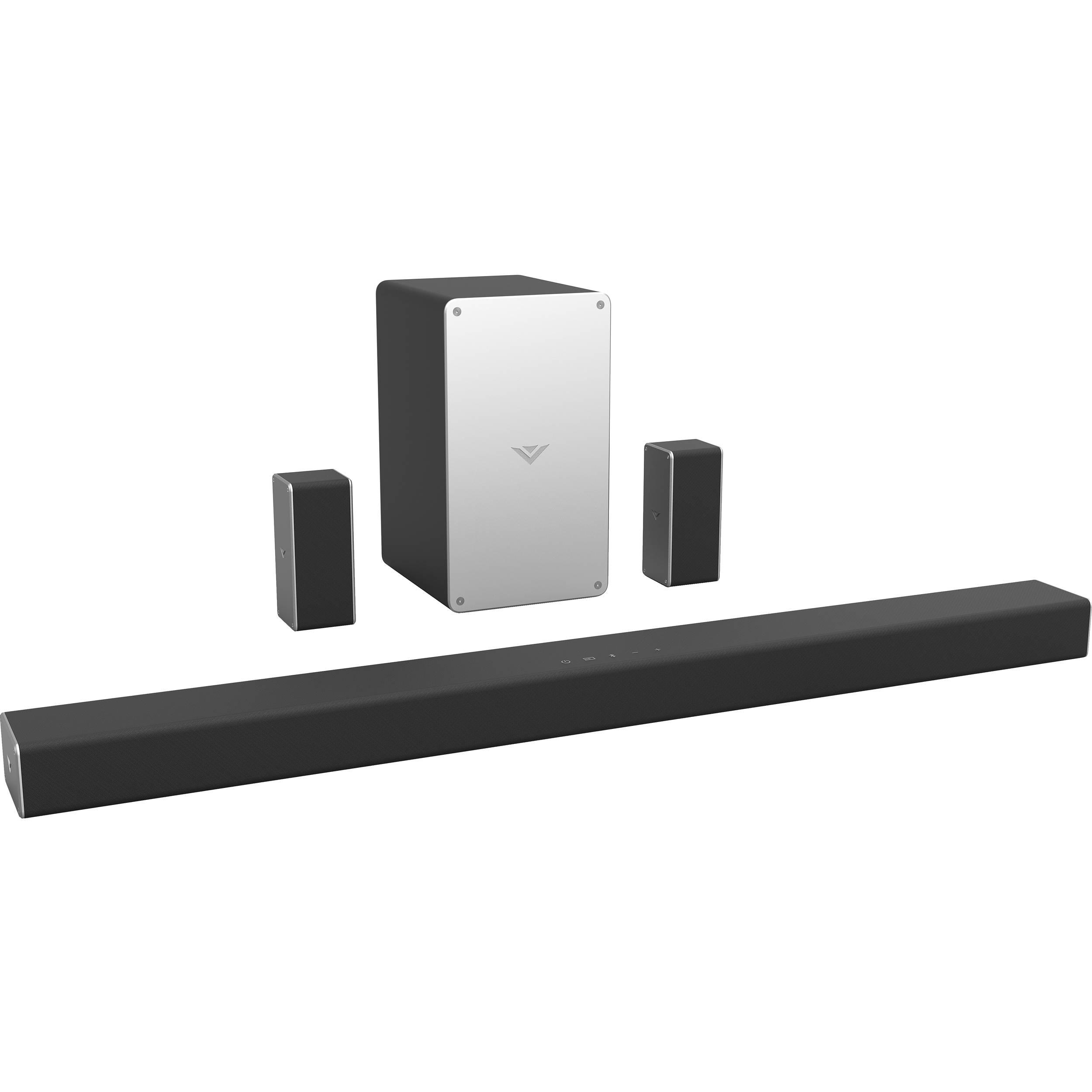 Vizio Smartcast 36 Quot 5 1 Channel Soundbar System Sb3651 E6