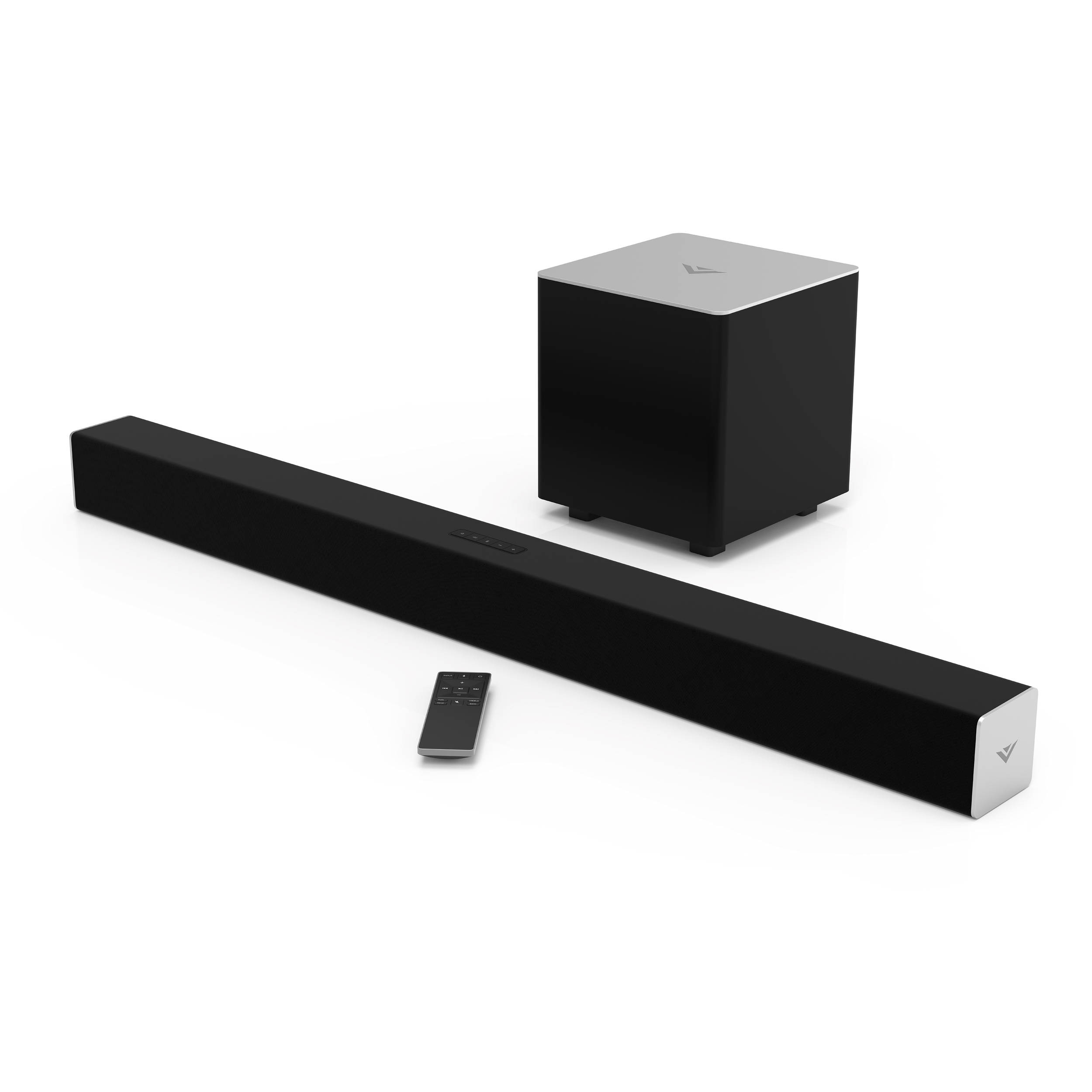vizio sb3821 c6 38 2 1 channel soundbar speaker sb3821 c6. Black Bedroom Furniture Sets. Home Design Ideas