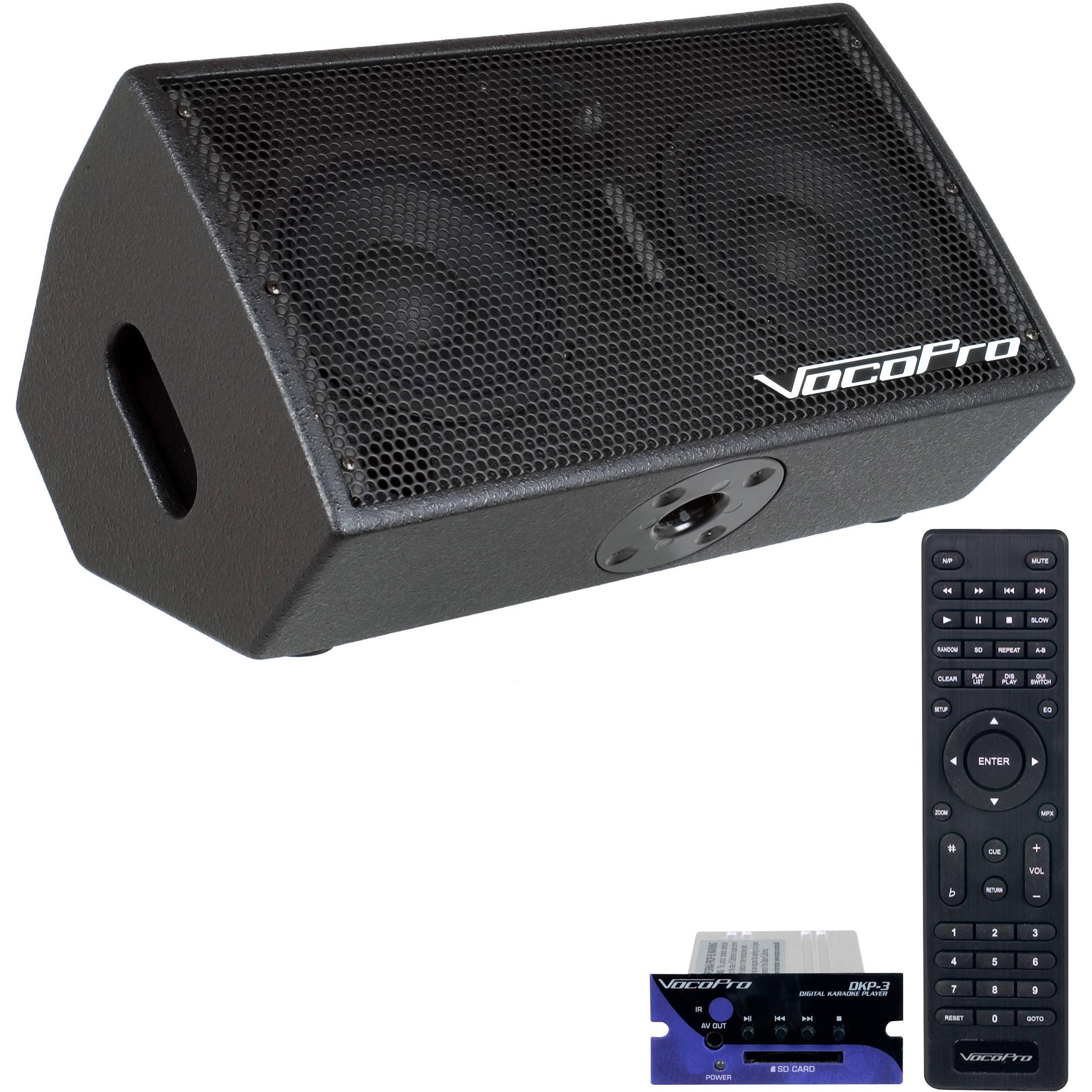 vocopro stageman karaoke system stage man karaoke b h photo video. Black Bedroom Furniture Sets. Home Design Ideas