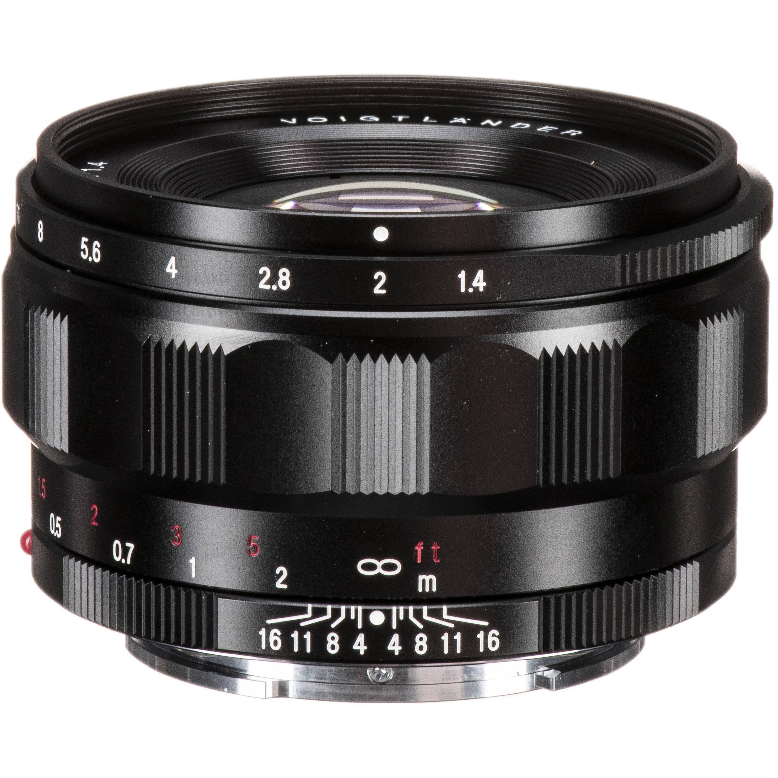 Voigtlander VM Nokton 35 mm f/1.4 MC : Caratteristiche e ...