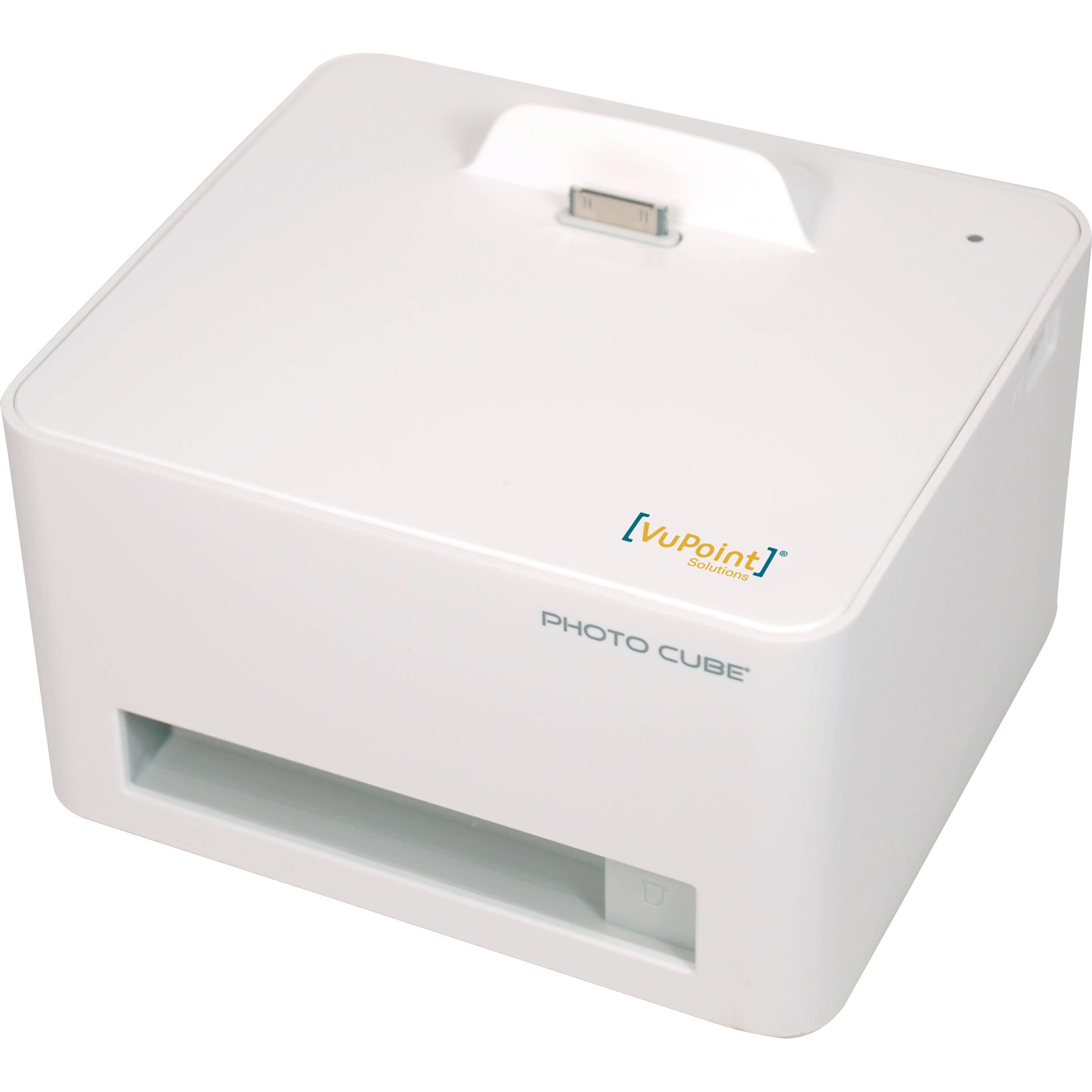 Vupoint Solutions Photo Cube Compact Dye Sub Photo Ip P20 Vp Bh