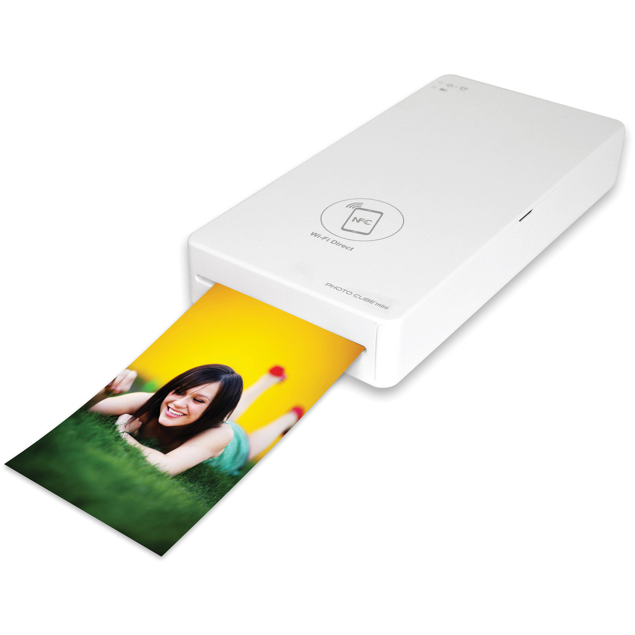Vupoint Solutions Photo Cube Mini Printer Ipwf P01 Vp Bh Photo