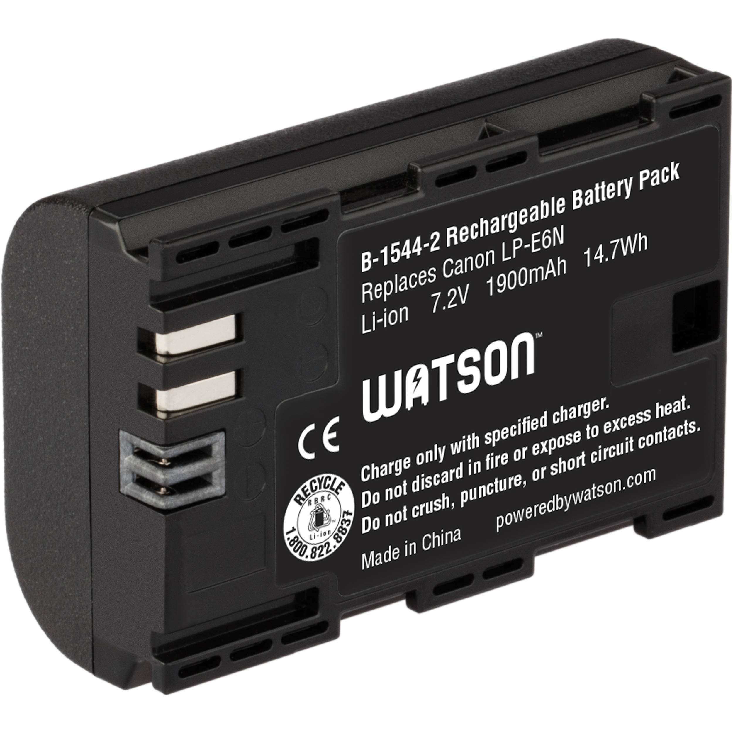 Lithium Ion Battery Pack Watson LP-E6N L...