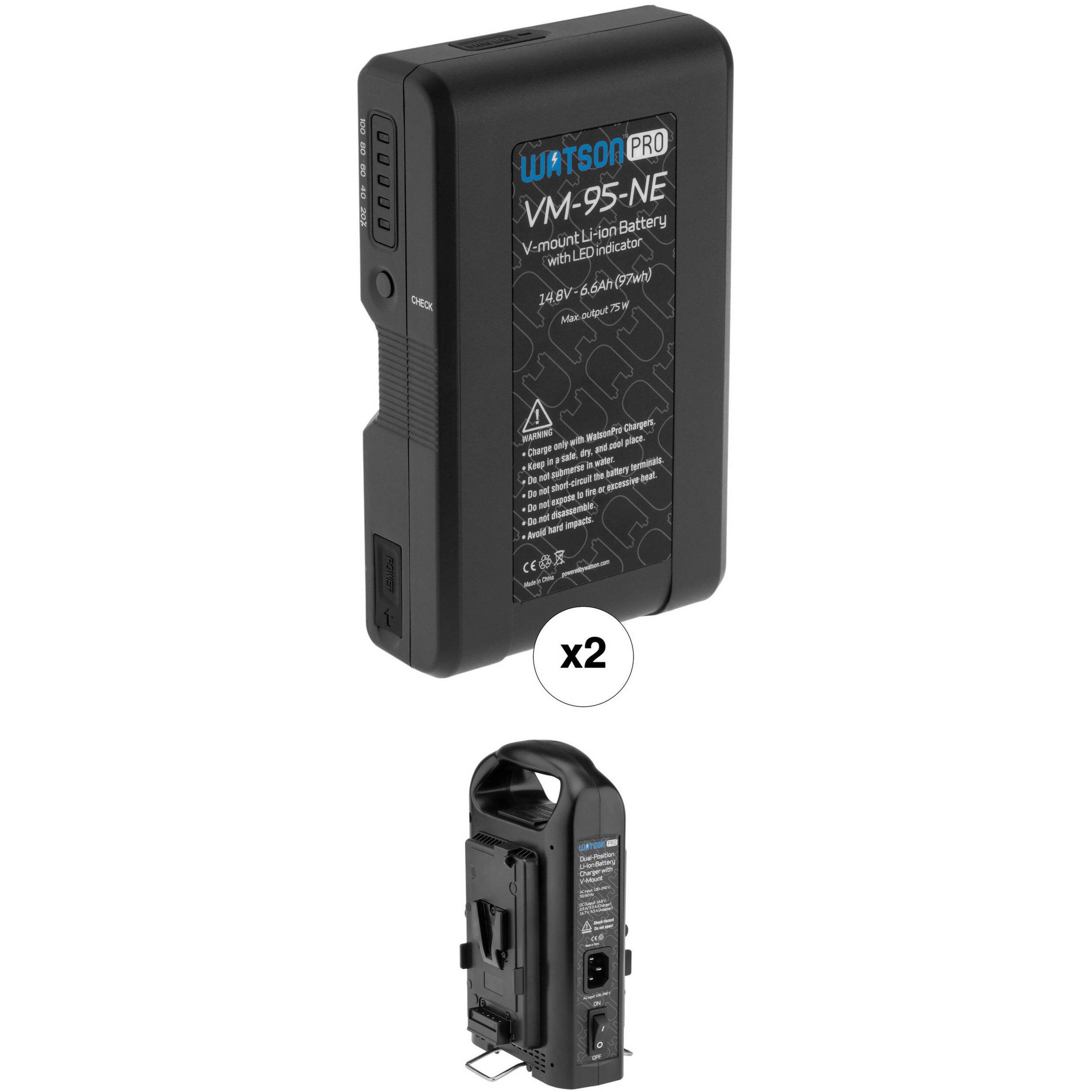 watson pro two 14 8v 97wh