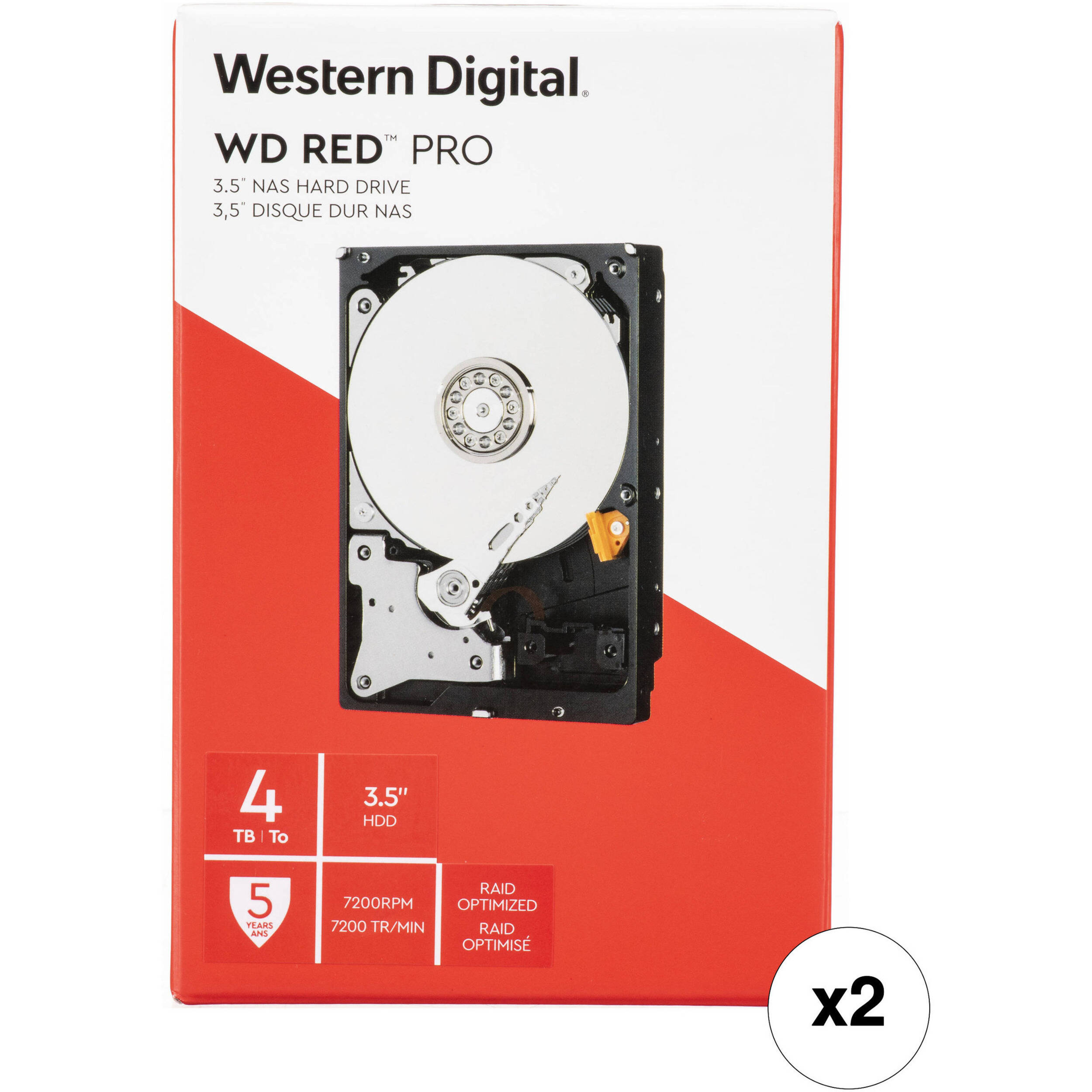 Amazon.com: Western Digital 2TB WD Red Plus NAS Internal