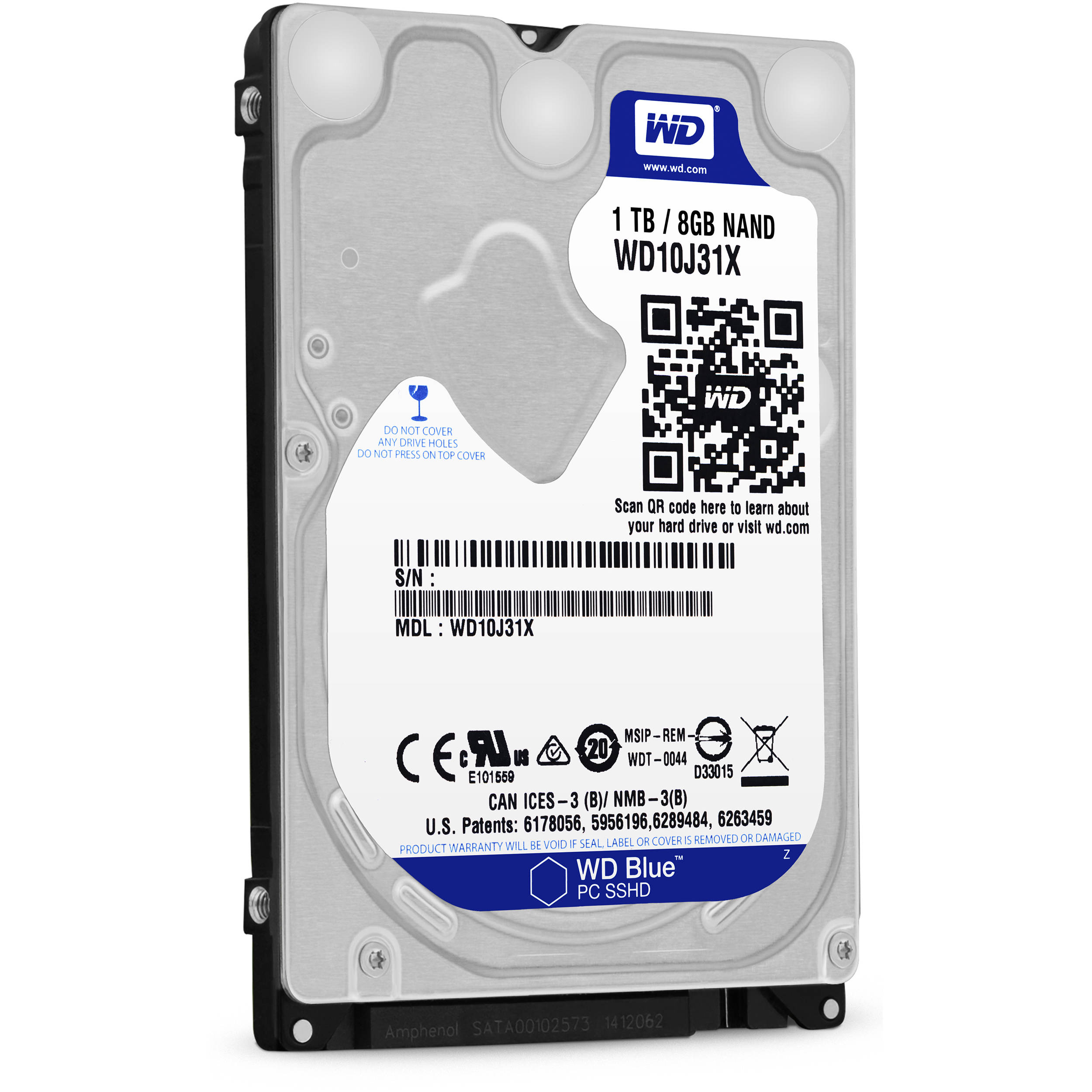 Wd 1tb Blue 2 5 Solid State Hybrid Drive