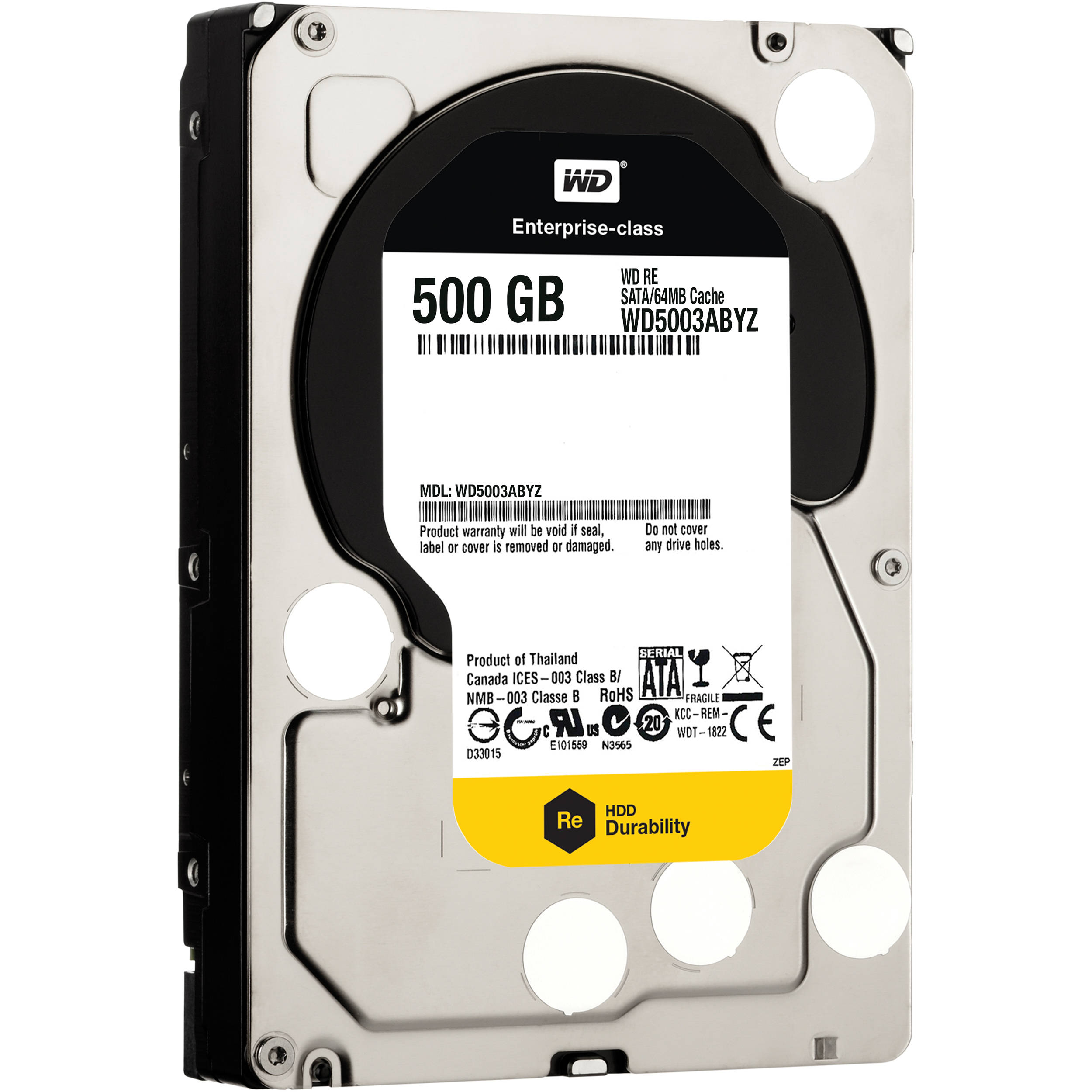 WD 500GB Re Datacenter 7200 Rpm SATA III 35 WD5003ABYZ