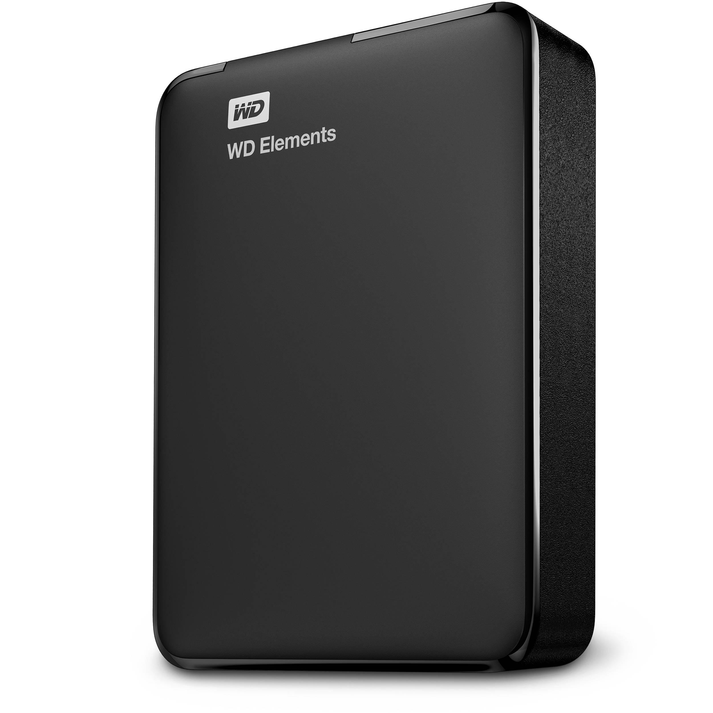 Wd 3tb Elements Usb 3 0 External Hard Drive Wdbu6y0030bbk Eesn