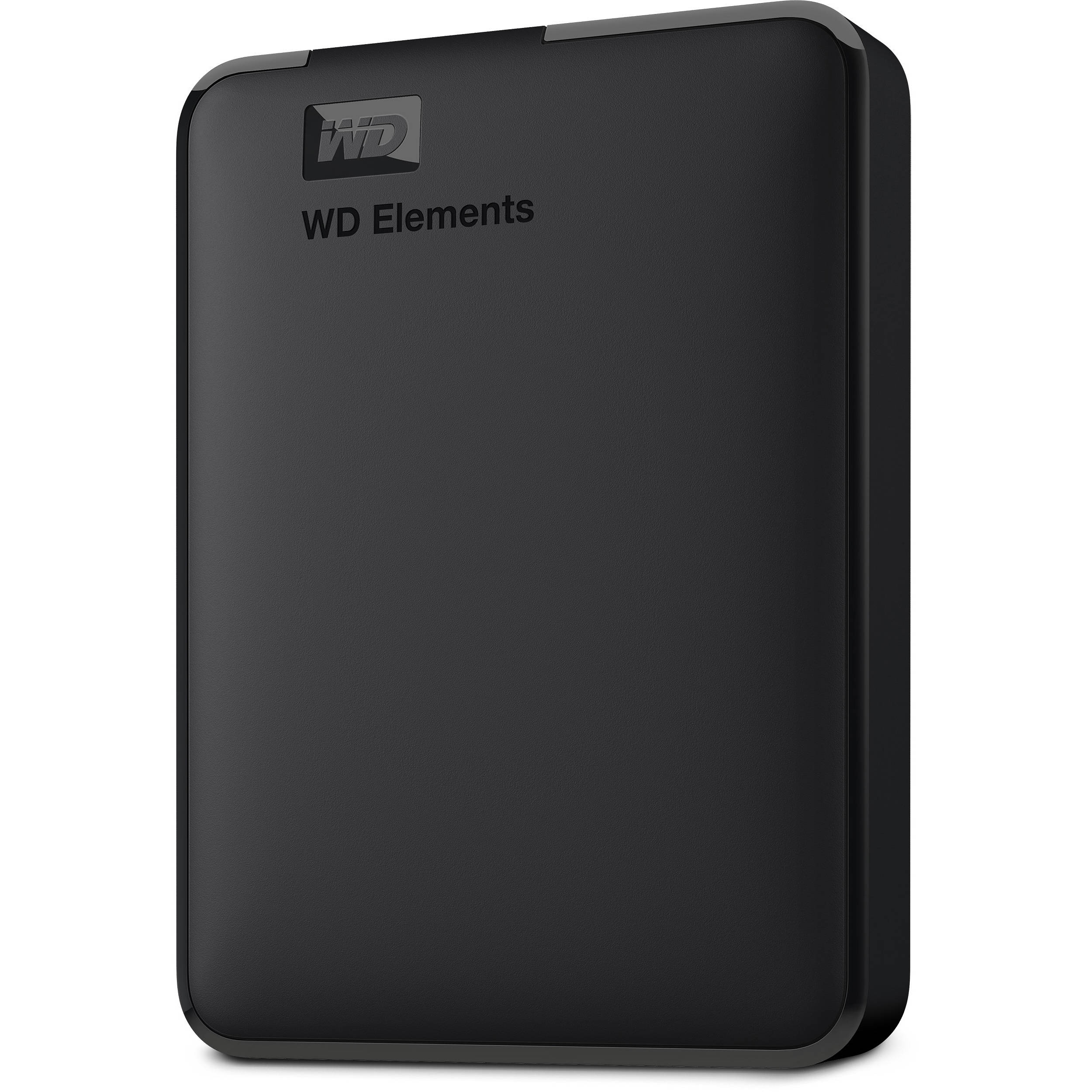 83cc62f617 WD 4TB Elements Portable USB 3.0 External Hard