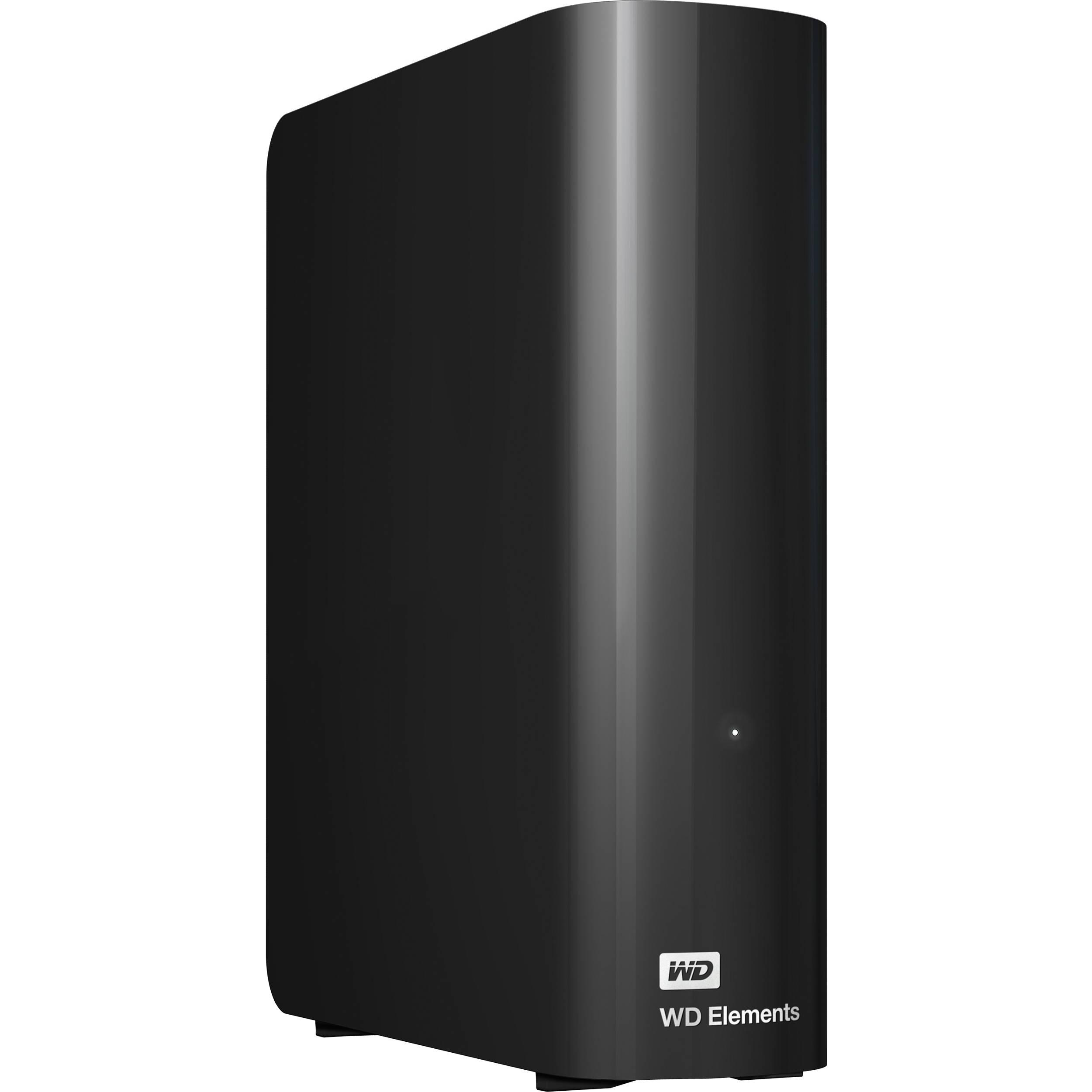 d3f82dbba1 WD 4TB Elements Desktop USB 3.0 External Hard WDBWLG0040HBK-NESN