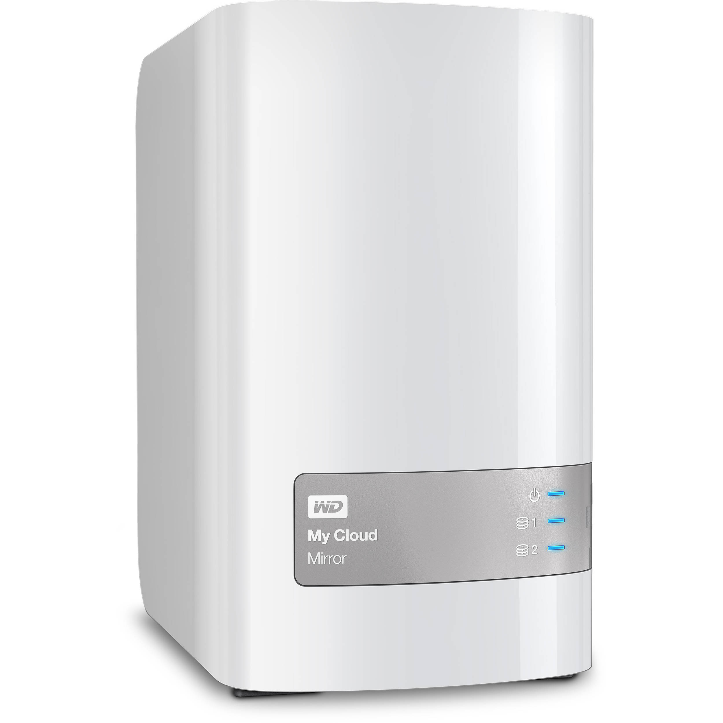 WD My Cloud Mirror (Gen 2) 4TB 2-Bay NAS WDBWVZ0040JWT-NESN B H 5fe0c70b5d34