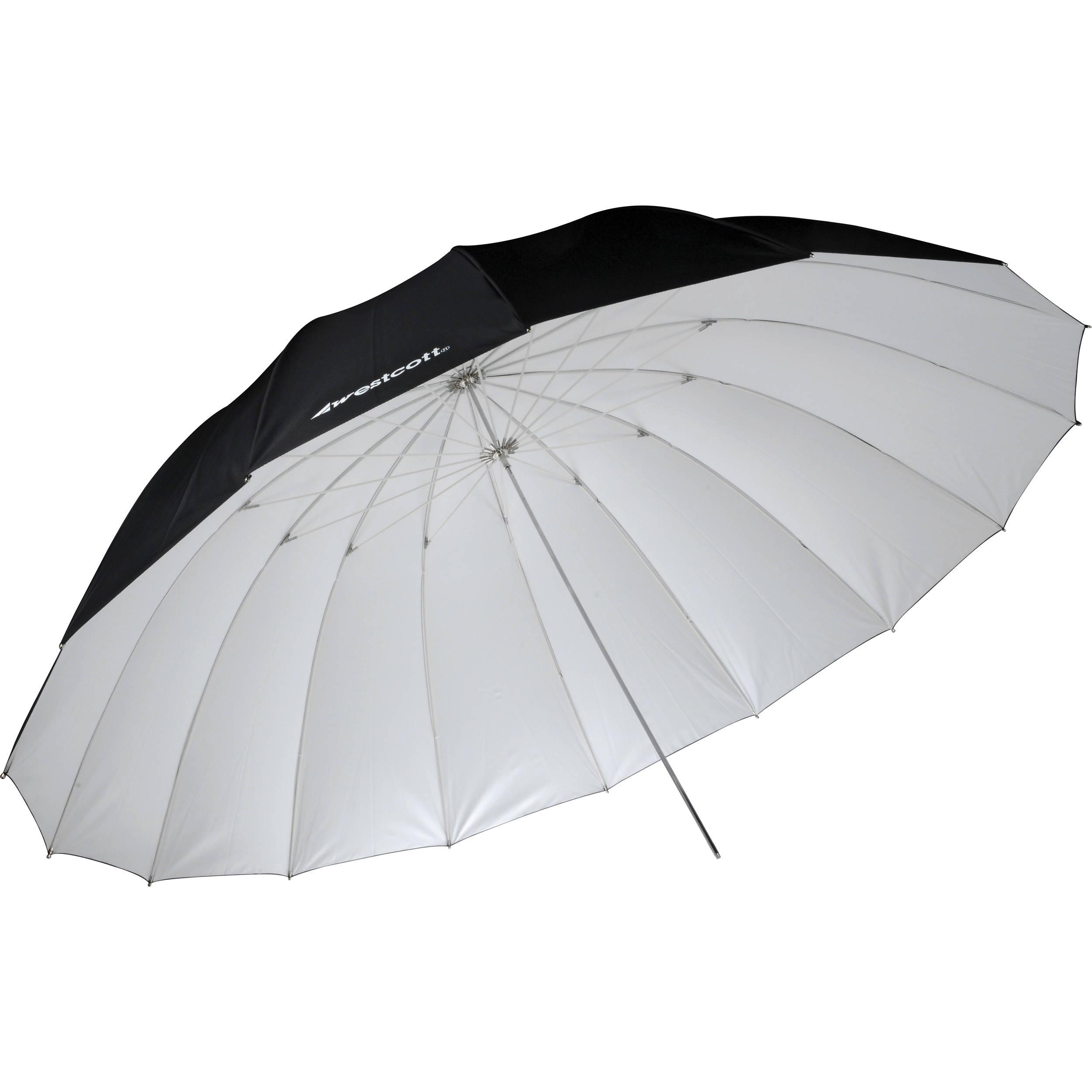 Parabolic Umbrella Vs Softbox: Westcott 7' Parabolic Umbrella (White / Black) 4634 B&H Photo