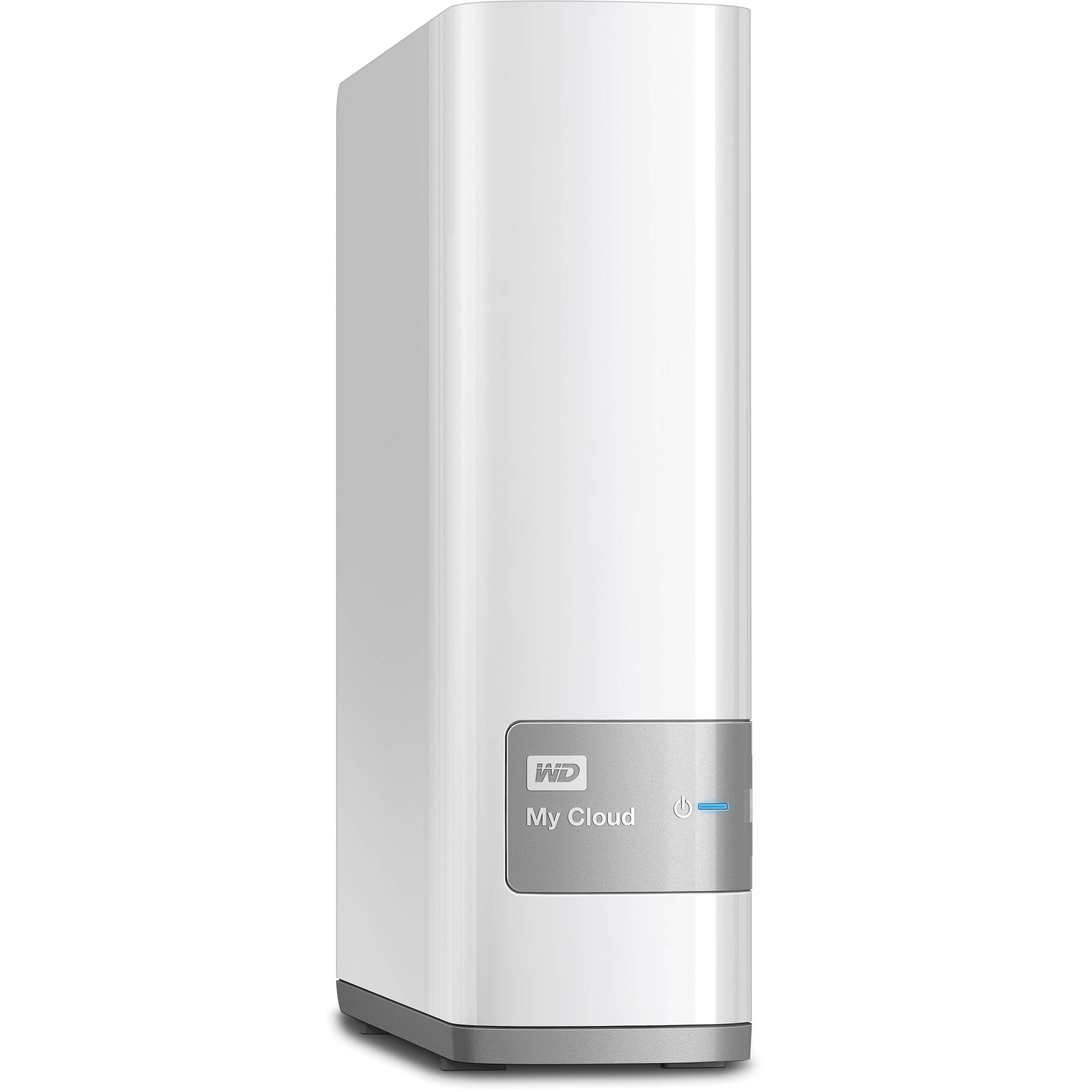 Wd 2tb My Cloud Personal Cloud Nas Storage Wdbctl0020hwt Nesn