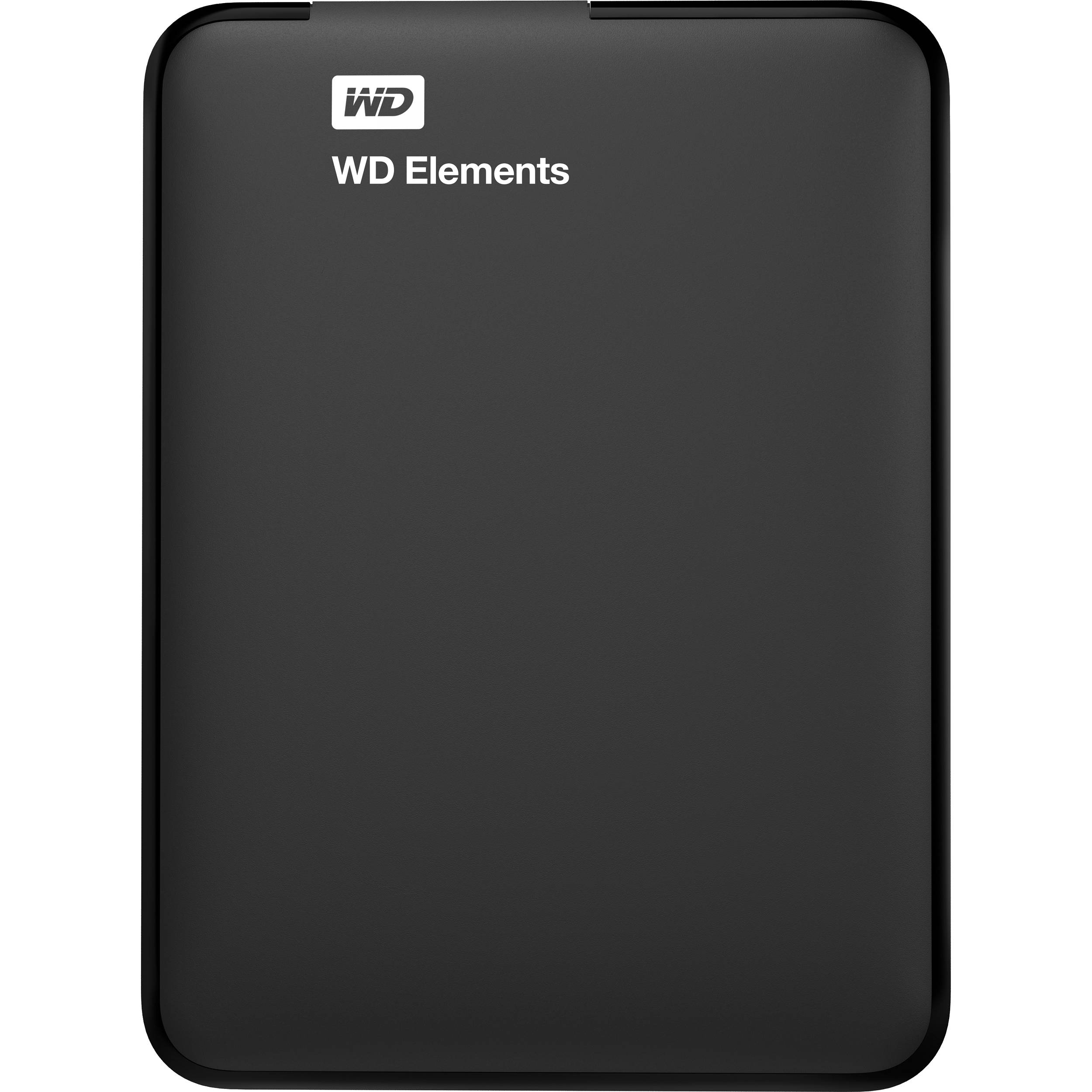 Wd 1tb Elements Portable Hard Drive Wdbuzg0010bbk Nesn B Amp H