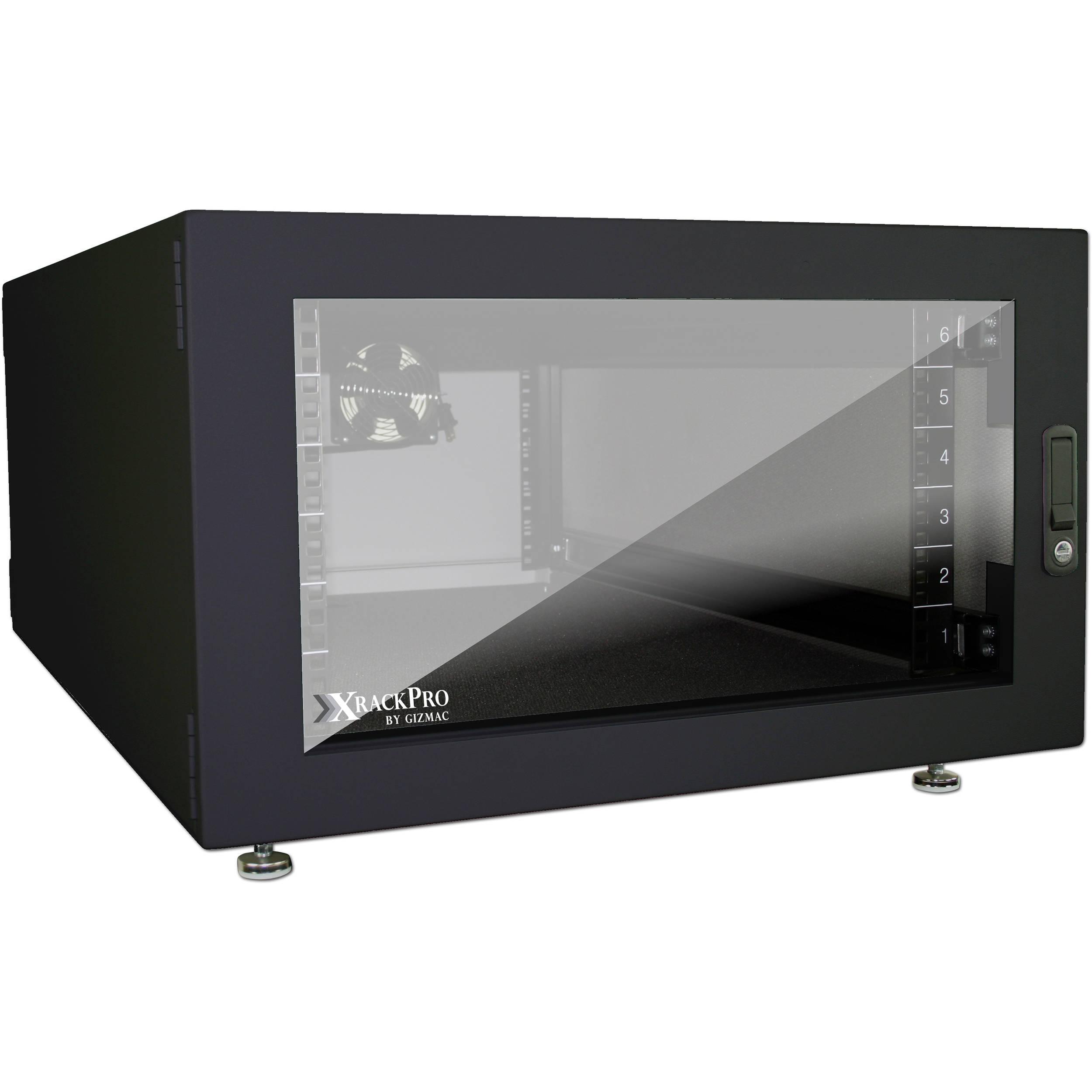 Xrackpro xrackpro2 noise reduction server rack xr nre2 6u for Rack mural 6u