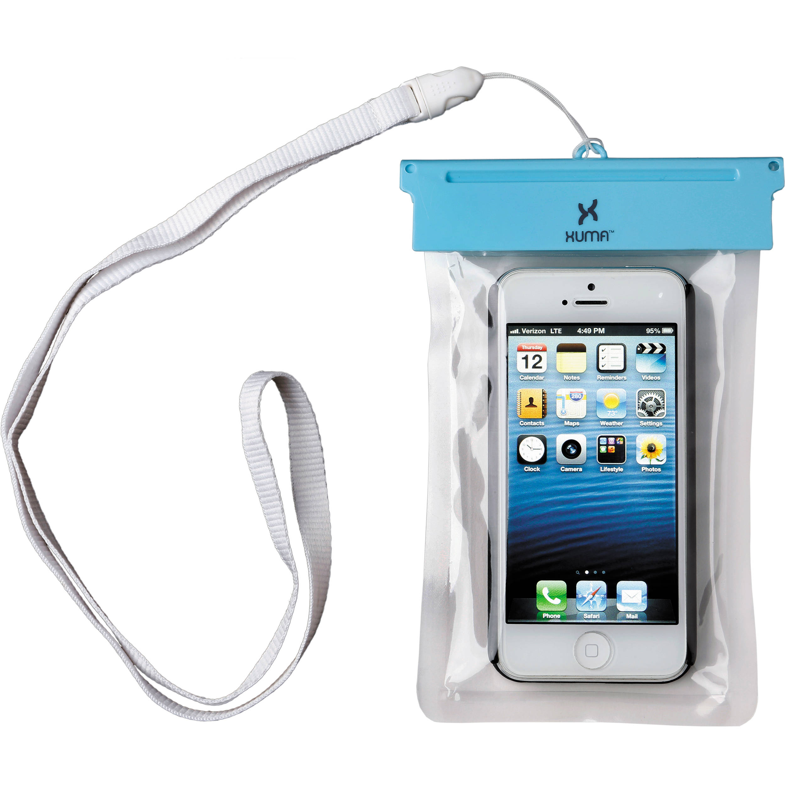 Xuma Waterproof Pouch For Iphone 5