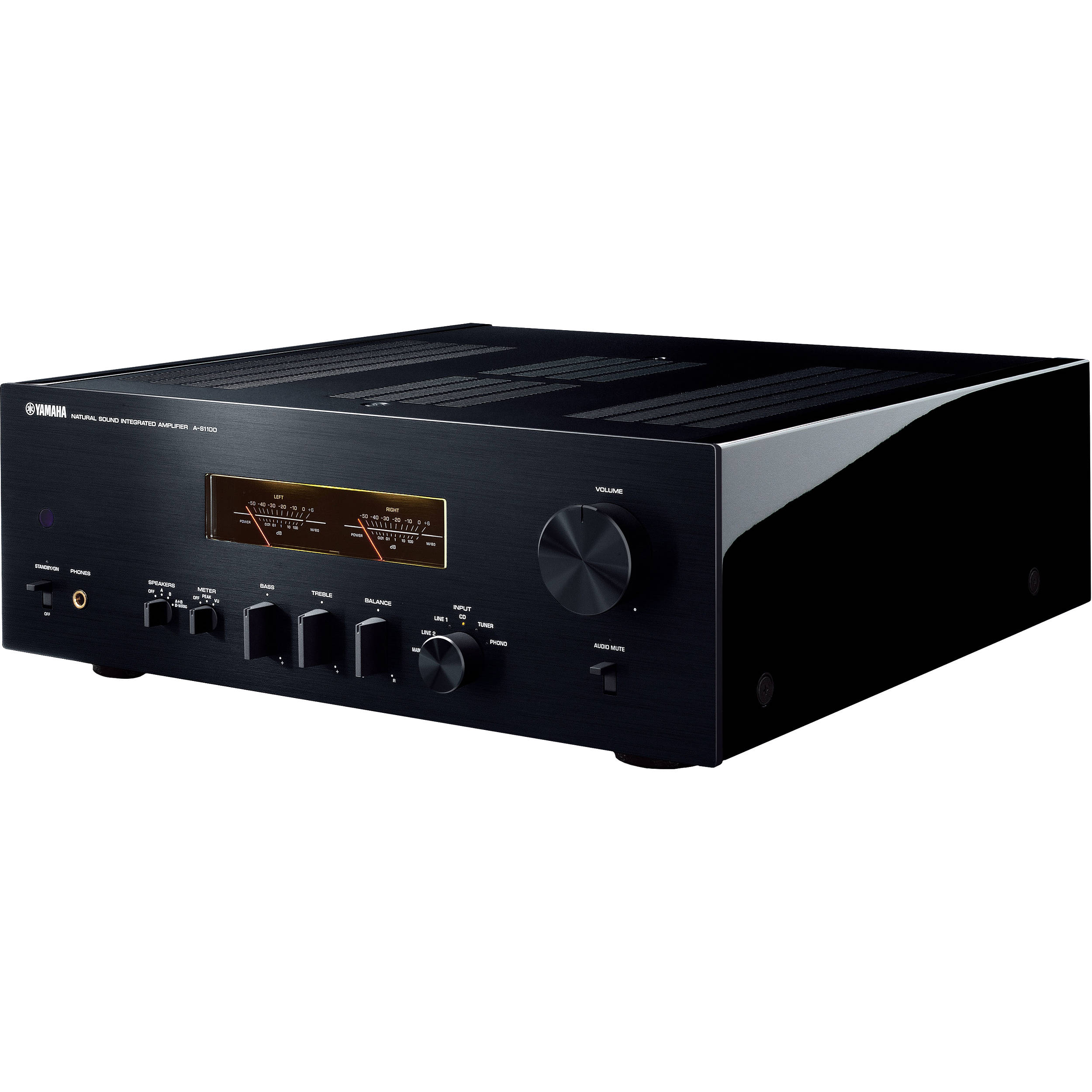 Yamaha a s1100 integrated amplifier and receiver a s1100bl b h for Yamaha integrated amplifier review