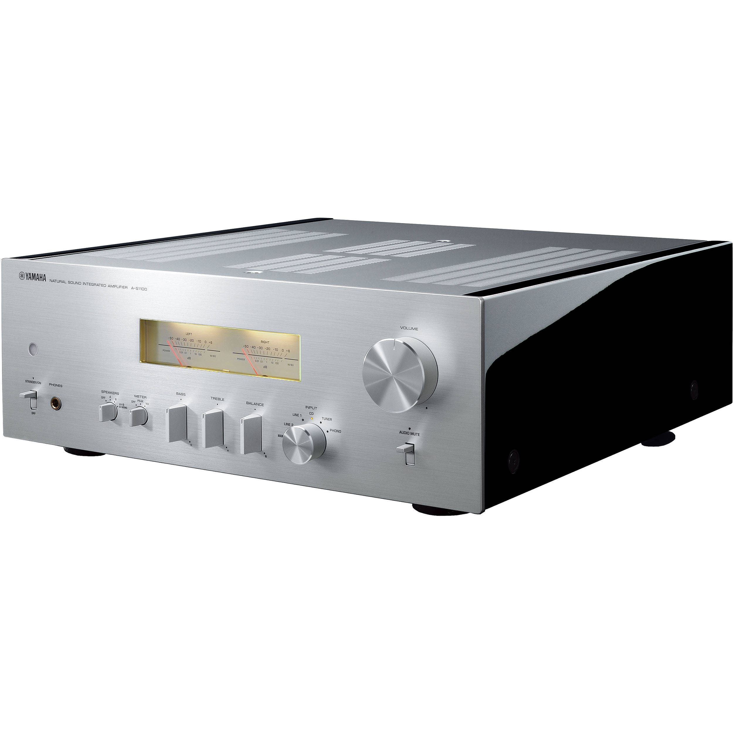 yamaha a s1100 integrated amplifier and receiver a s1100sl b h. Black Bedroom Furniture Sets. Home Design Ideas