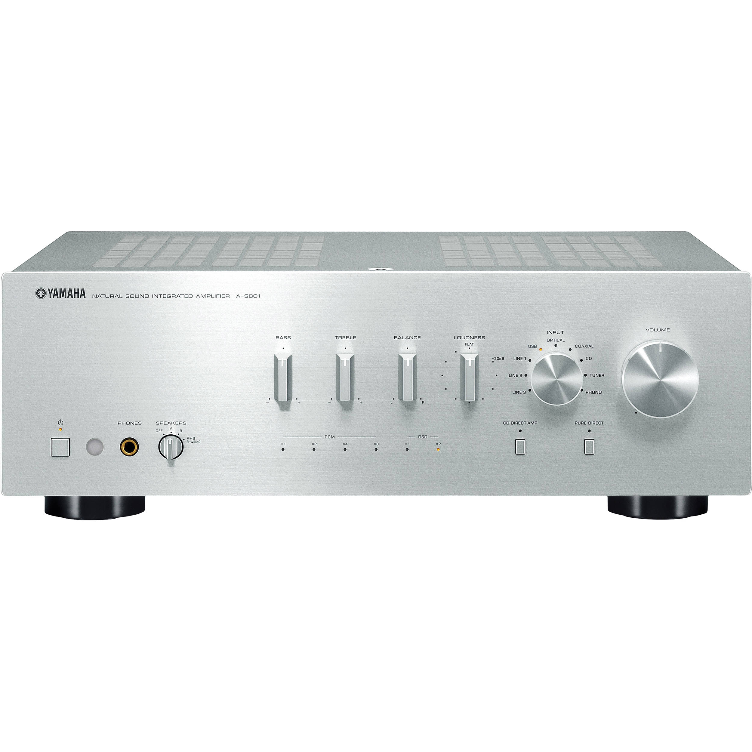 Yamaha Power Amplifiers Bh Photo Video How To Build Symmetrical Class A Preamplifier S801 Integrated Amplifier Silver