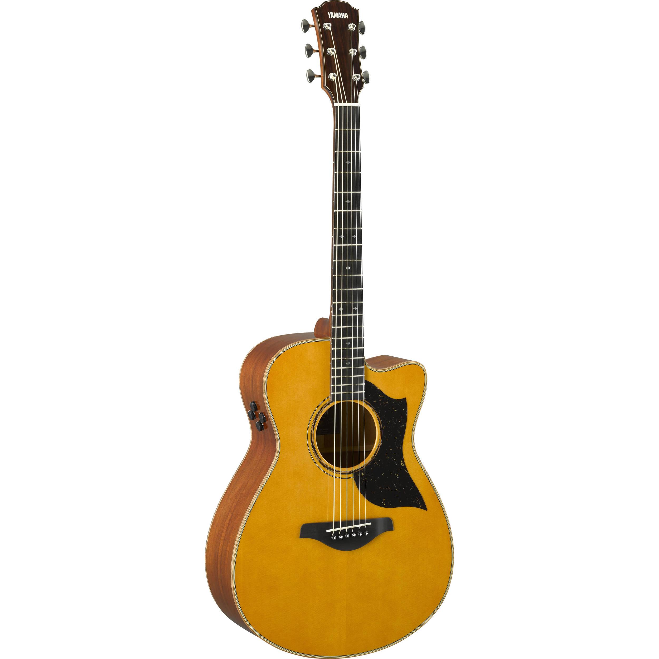 Yamaha ac5m concert cutaway acoustic electric guitar ac5m for Yamaha acoustic electric guitar