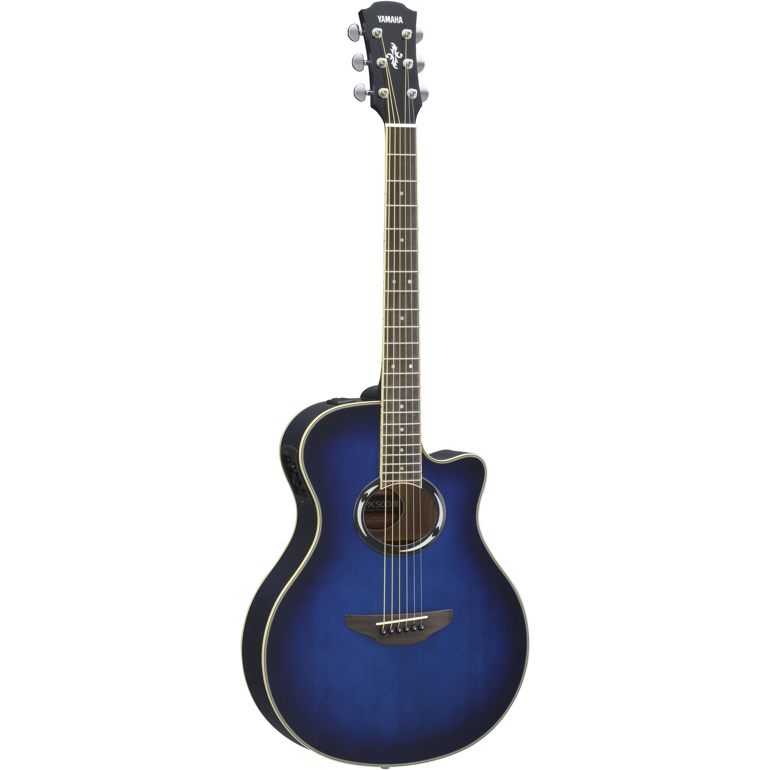 yamaha apx500iii thinline acoustic electric apx500iii obb b h. Black Bedroom Furniture Sets. Home Design Ideas