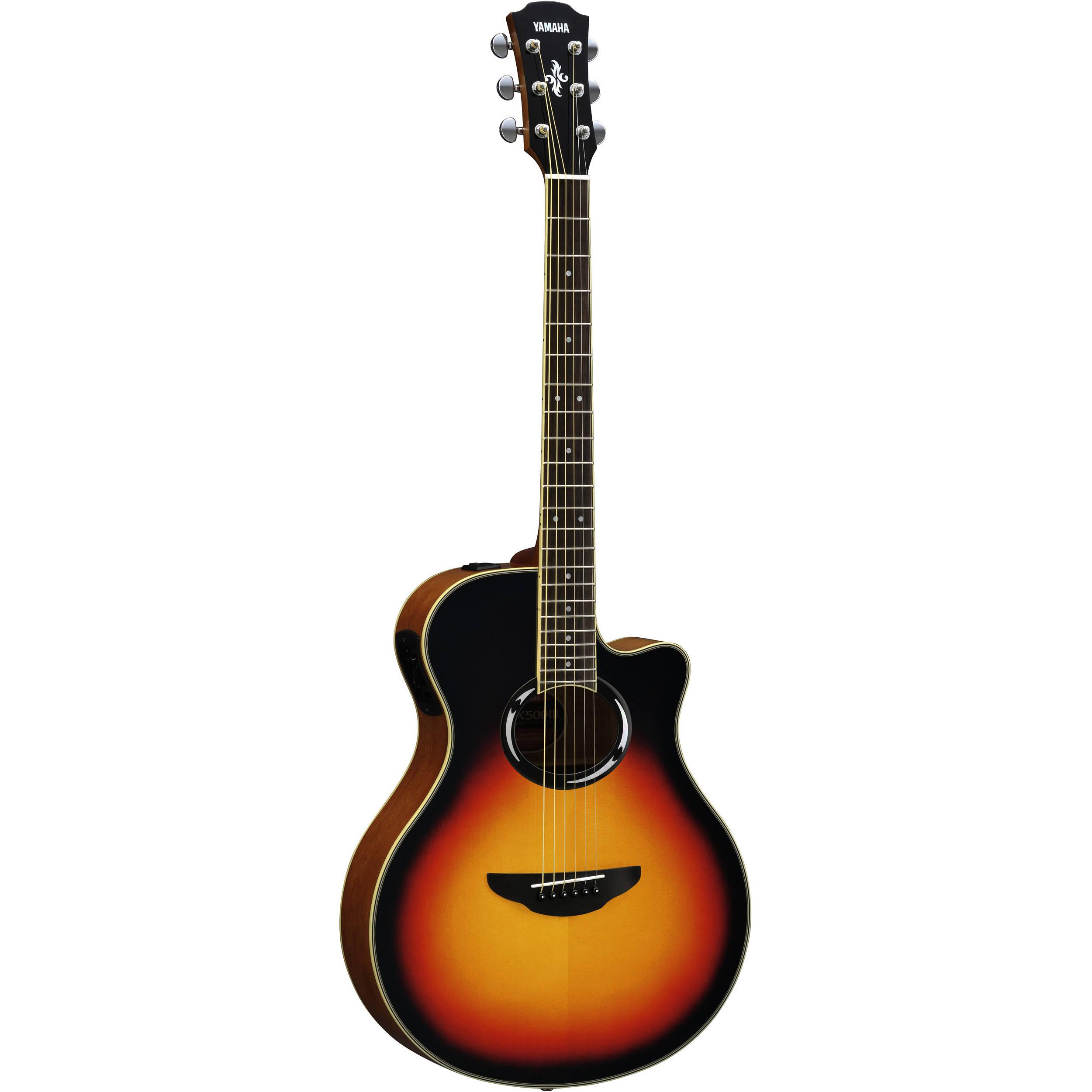 Yamaha Thinline Acoustic Guitar