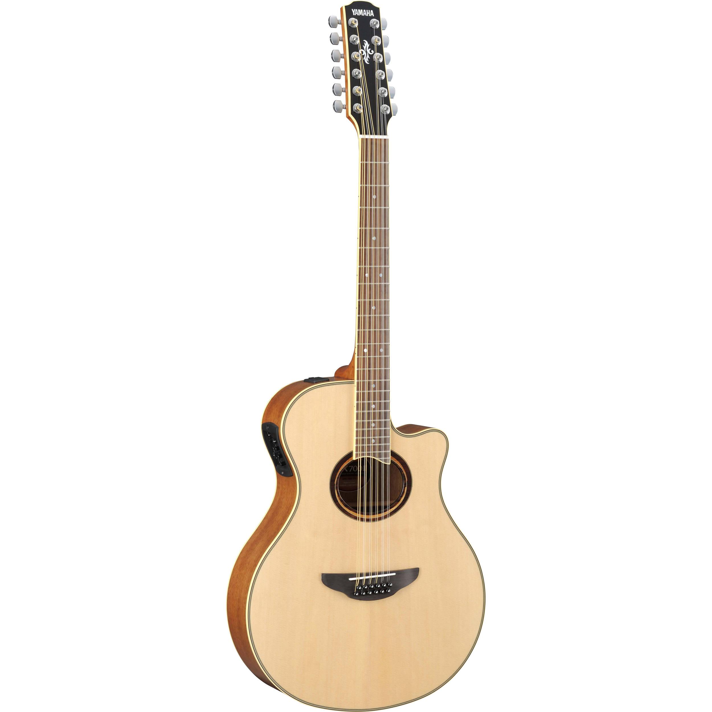 Yamaha Apx700ii 12 Twelve String Thinline Apx700ii 12 B Amp H