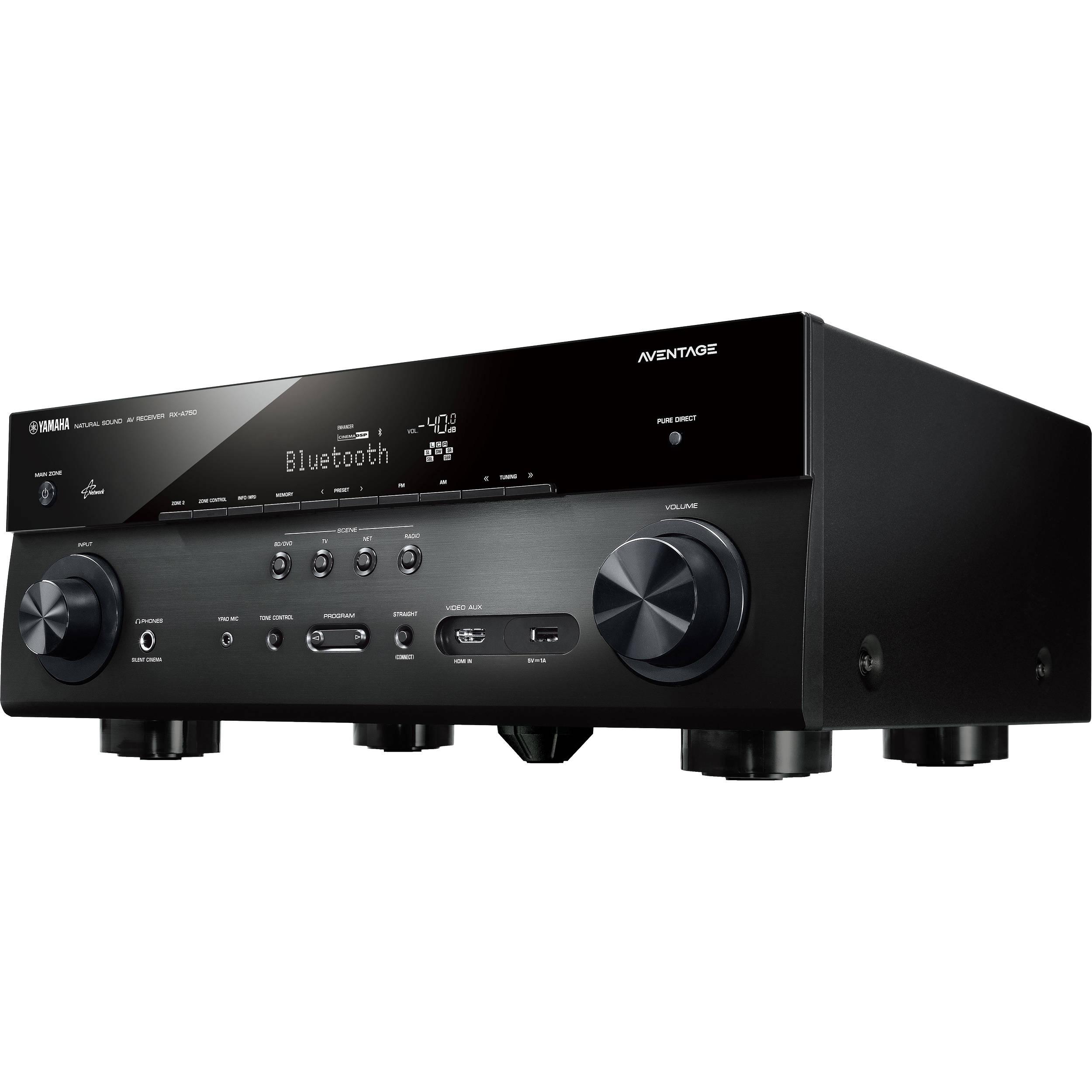 Yamaha AVENTAGE RX-A750BL 7.2-Channel Network AV RX-A750BL B&H
