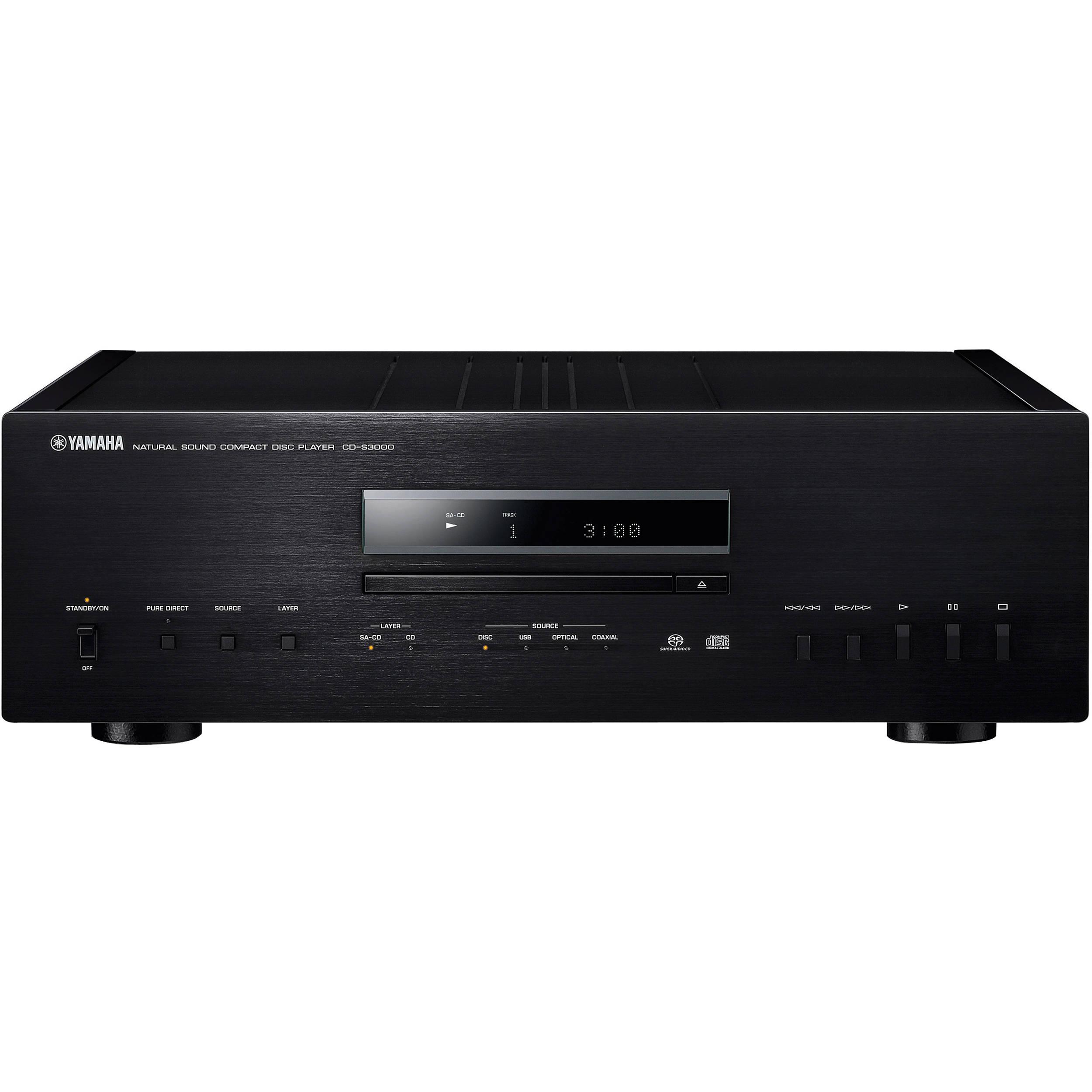 Yamaha Cdc  Bl  Disc Cd Player
