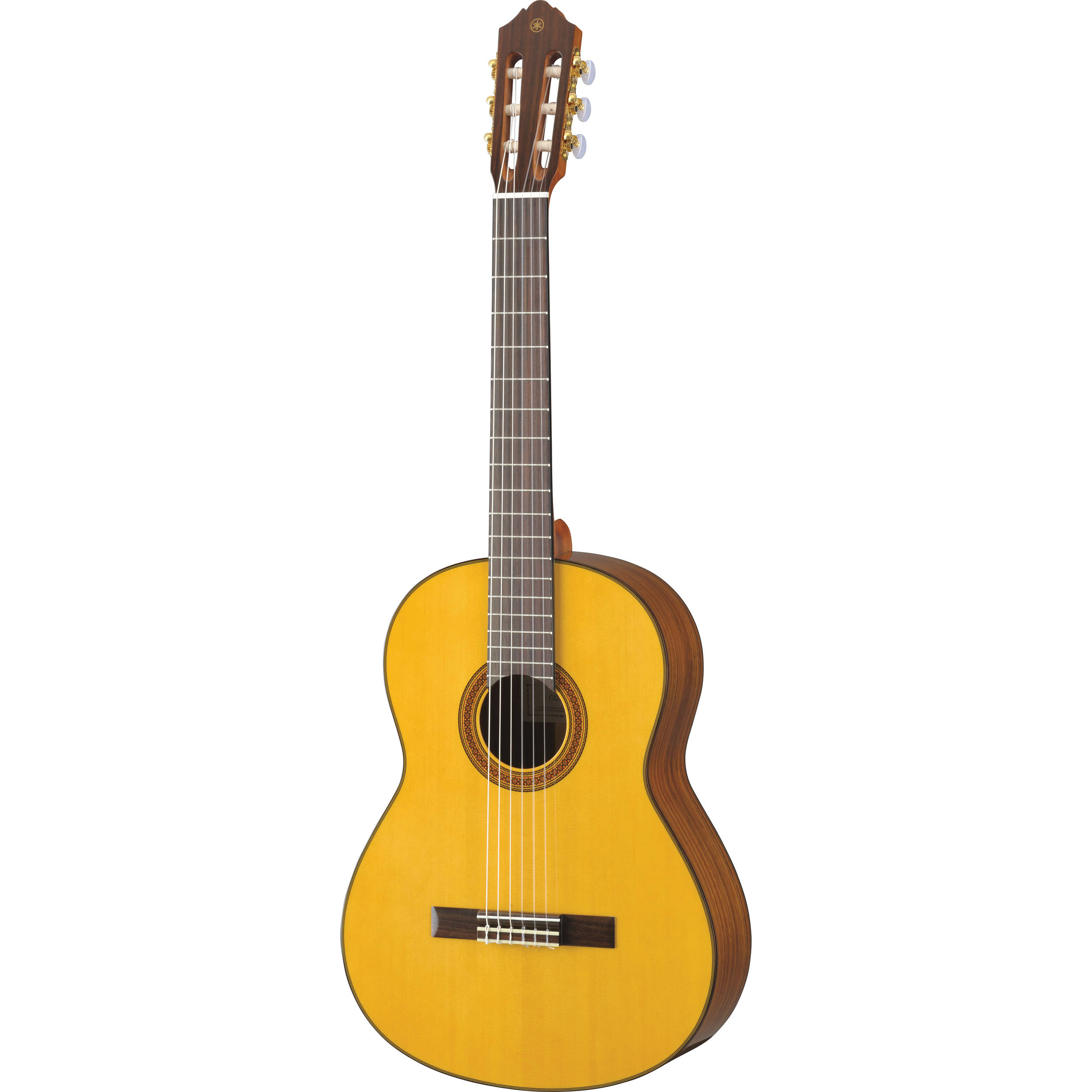 yamaha cg162s nylon string classical guitar cg162s b h photo. Black Bedroom Furniture Sets. Home Design Ideas