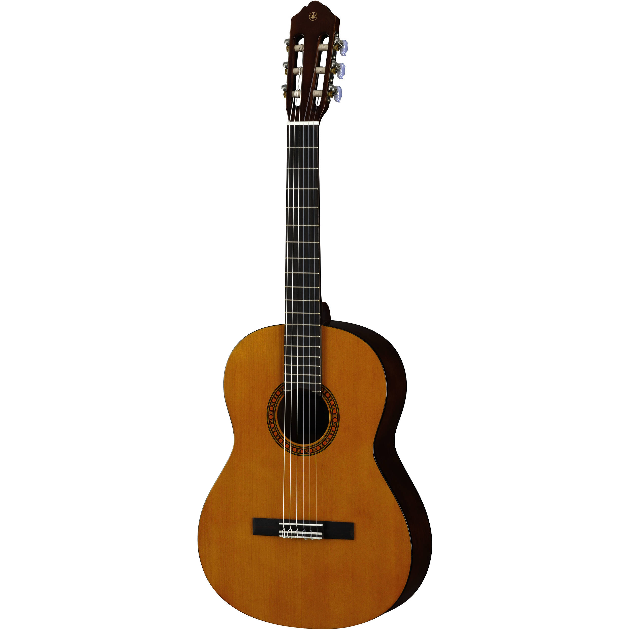yamaha cs40ii compact nylon string classical guitar cs40ii b h. Black Bedroom Furniture Sets. Home Design Ideas