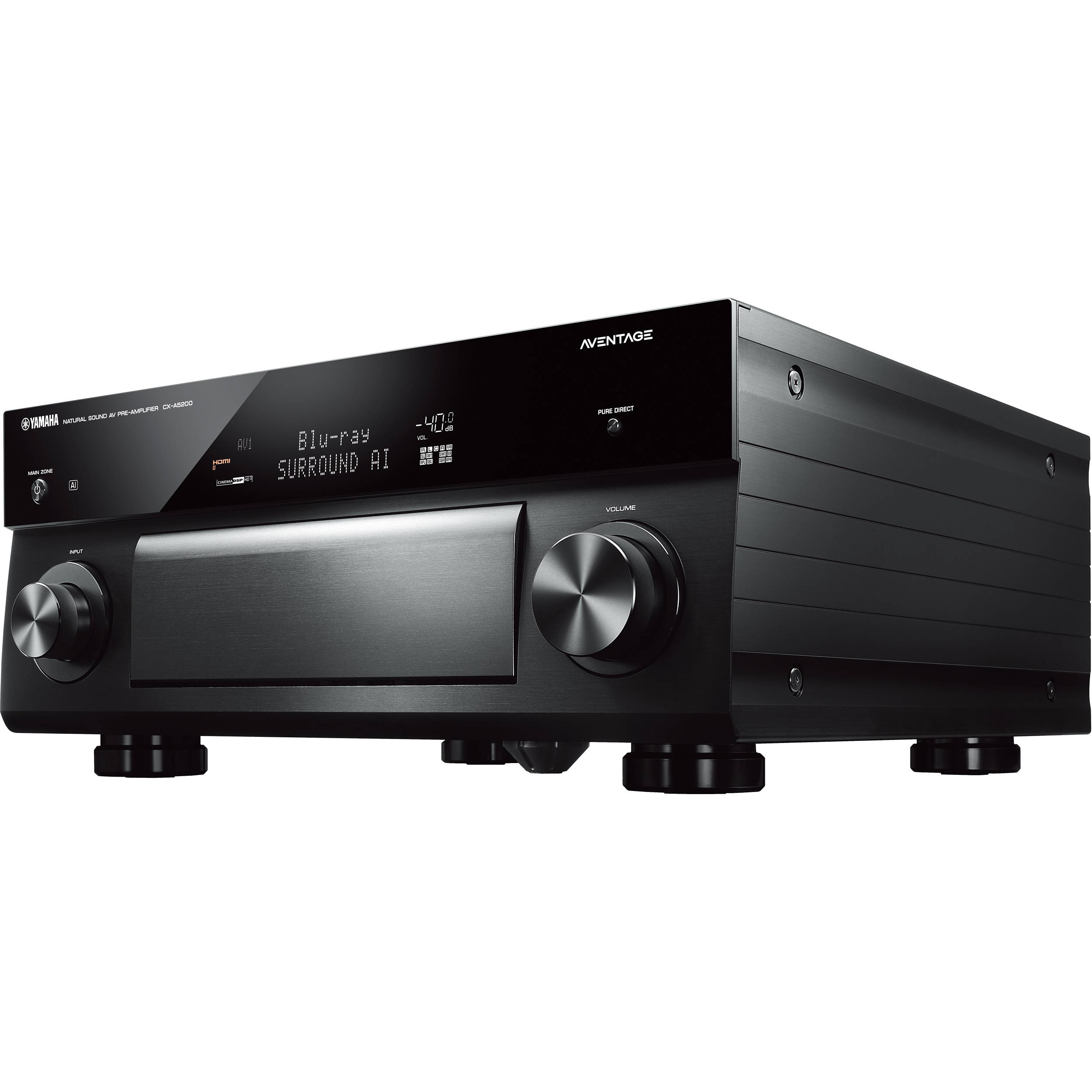 yamaha aventage cx a5200 11 2 channel musiccast cx a5200bl b h. Black Bedroom Furniture Sets. Home Design Ideas