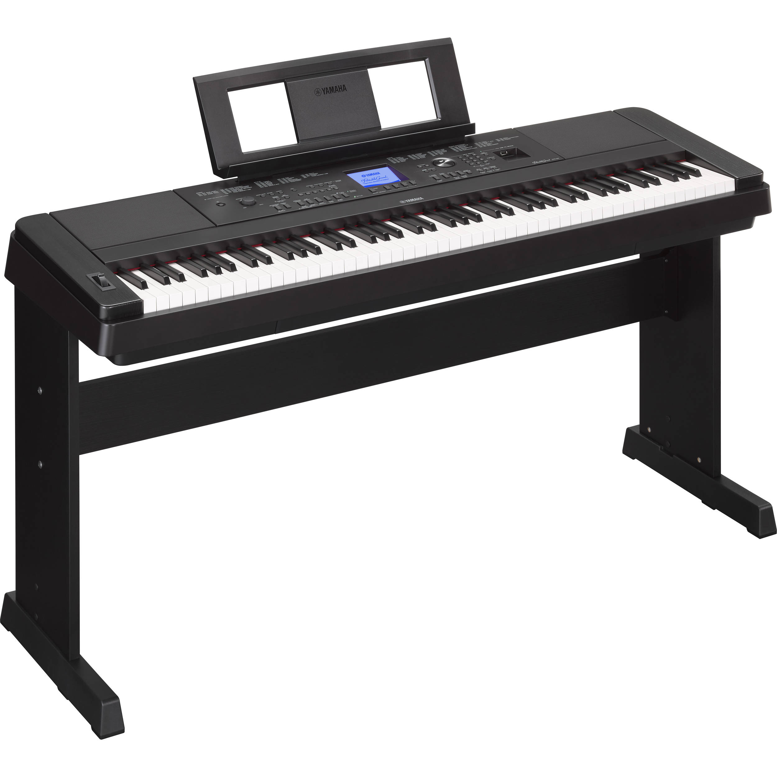 Yamaha dgx 660 portable grand digital piano black for Yamaha piano com