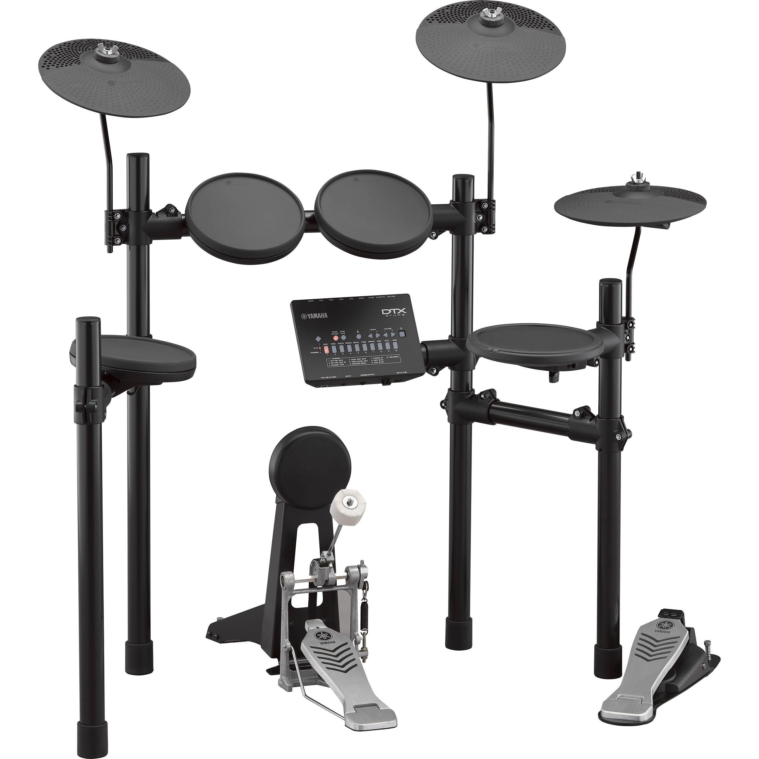 yamaha dtx452k electronic drum kit dtx452k b h photo video. Black Bedroom Furniture Sets. Home Design Ideas