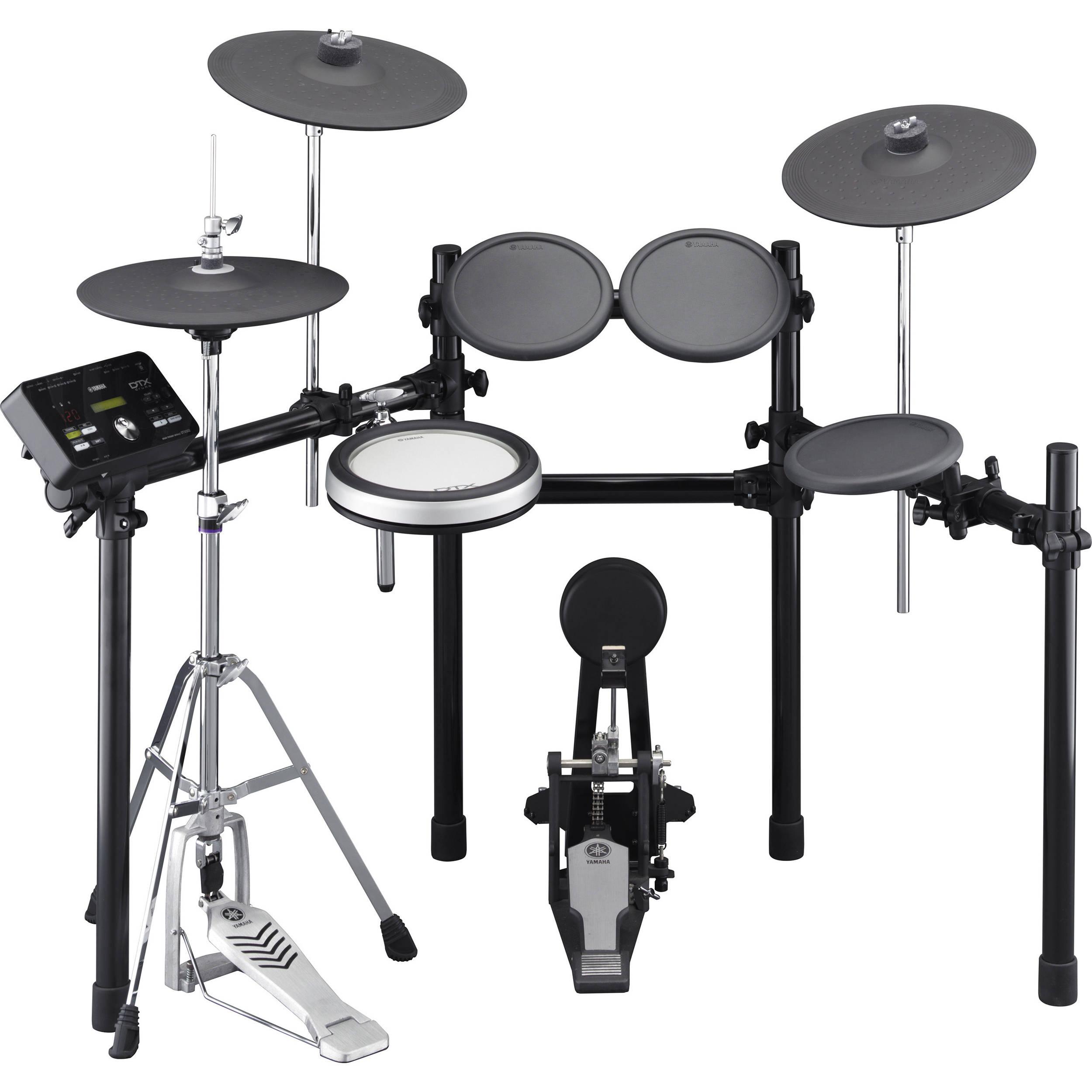 yamaha dtx532k electronic drum set kit dtx532k b h photo video