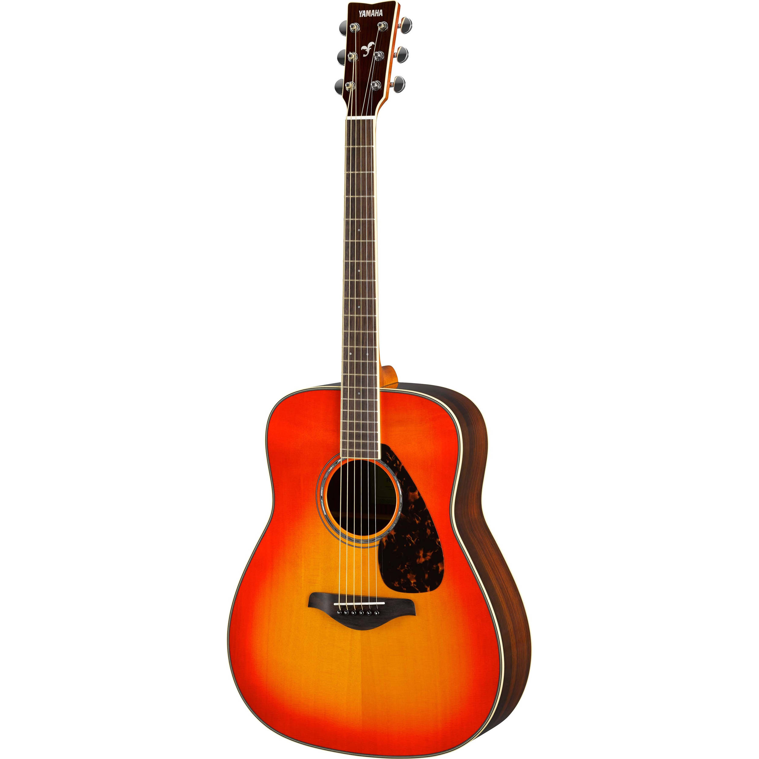 Yamaha fg830 fg series dreadnought style acoustic fg830 ab b h for Yamaha acoustic bass guitar