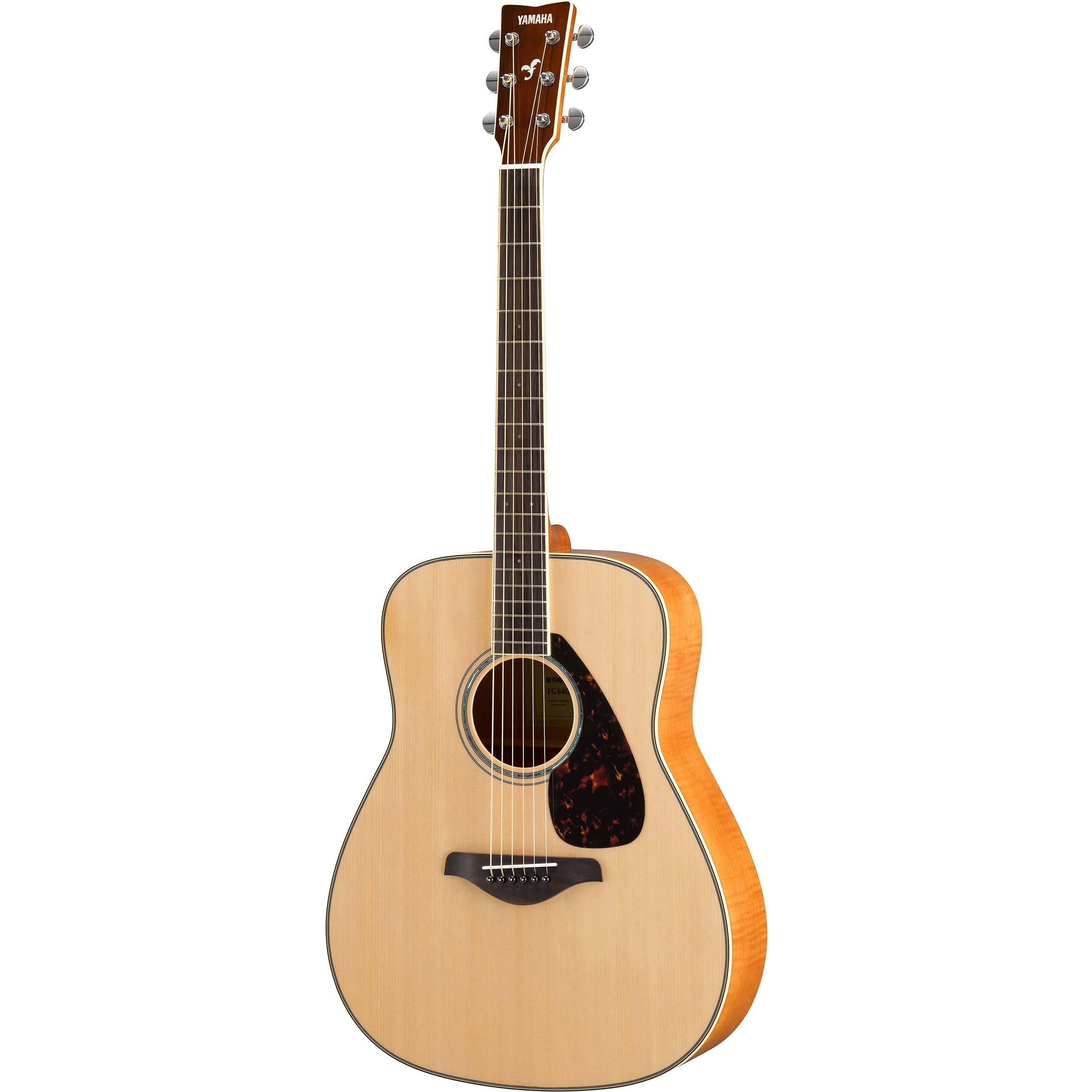 Yamaha fg840 fg series dreadnought style acoustic guitar fg840 for Yamaha series a