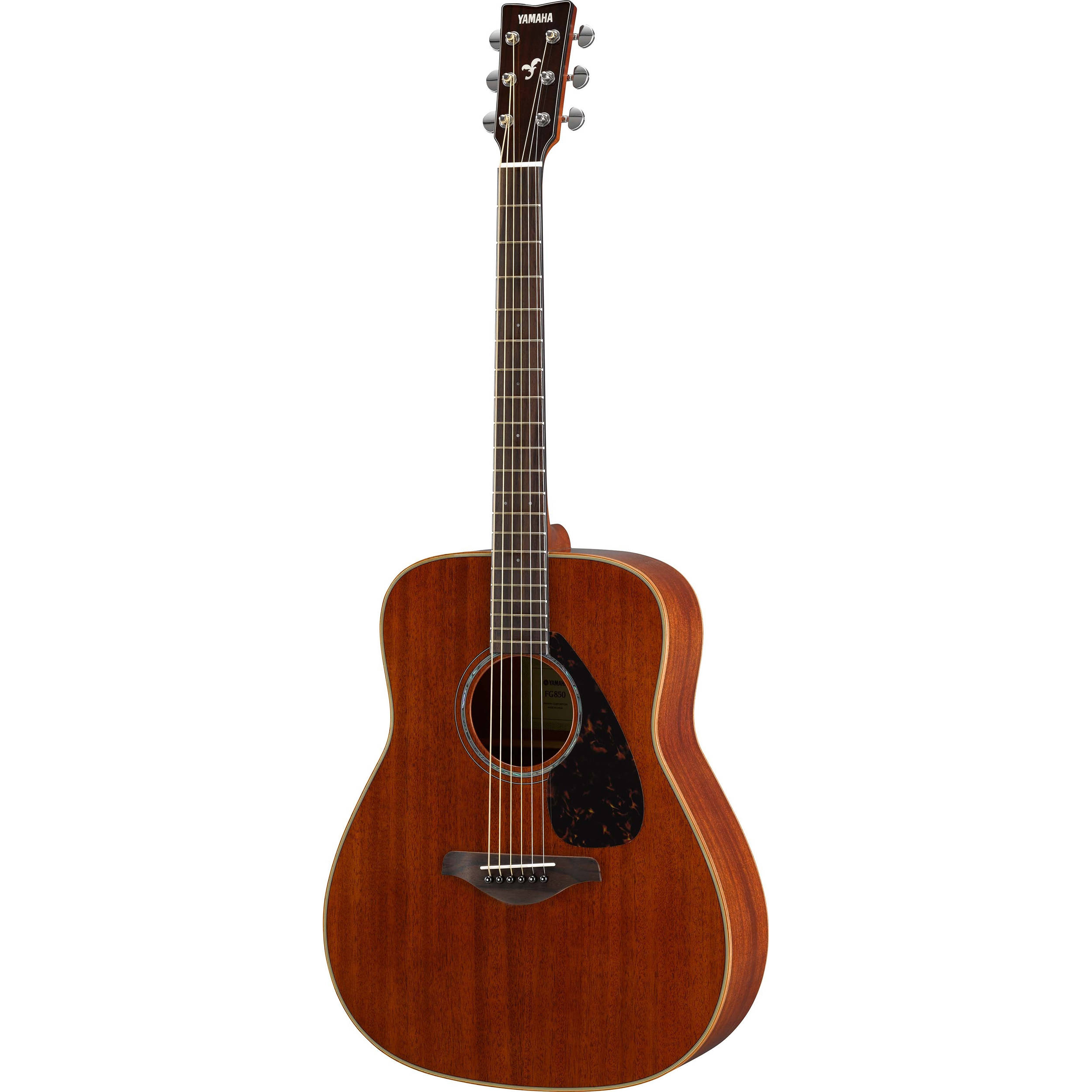 Yamaha fg850 fg series dreadnought style acoustic guitar fg850 for Yamaha classic guitar
