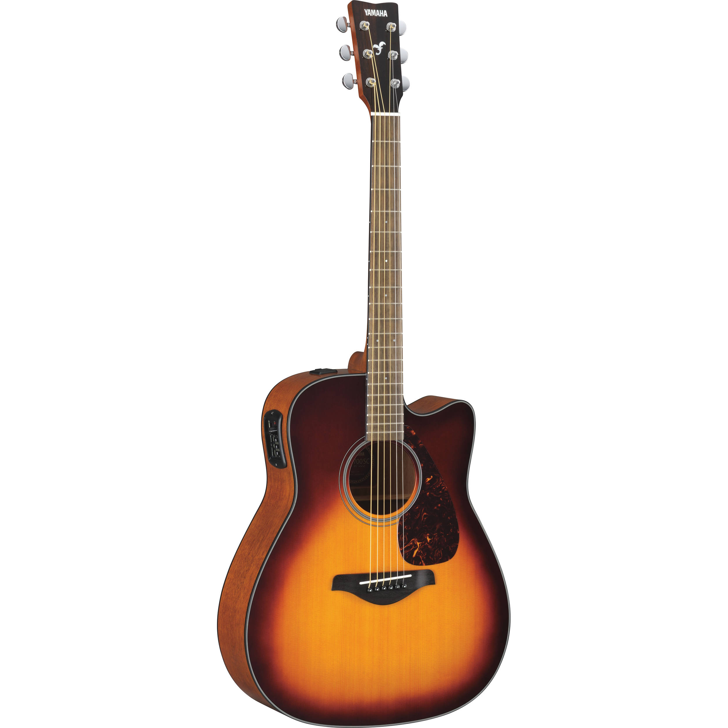 yamaha fgx700sc solid top acoustic electric cutaway fgx700sc bs. Black Bedroom Furniture Sets. Home Design Ideas