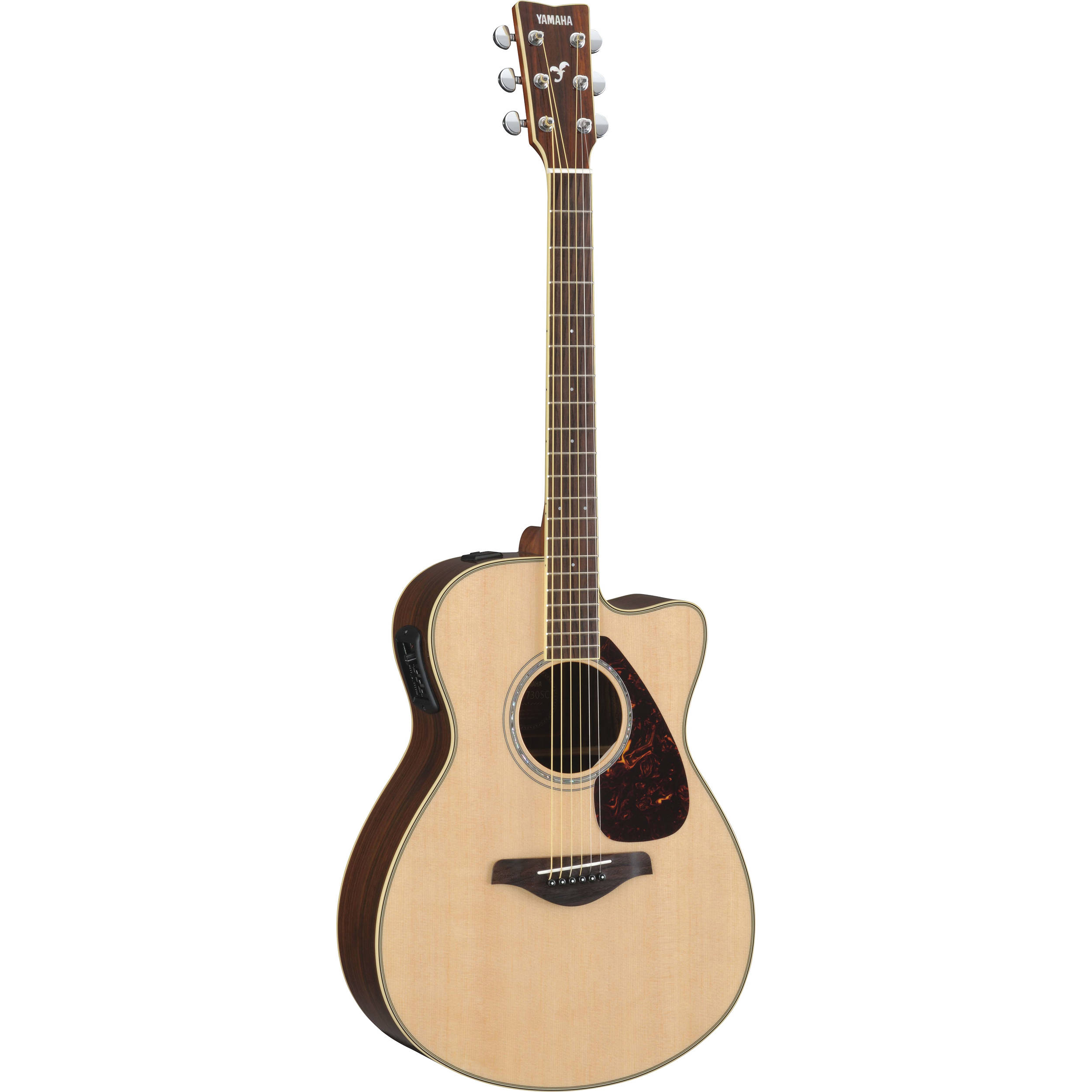 yamaha fsx730sc small body acoustic electric guitar fsx730sc b h. Black Bedroom Furniture Sets. Home Design Ideas