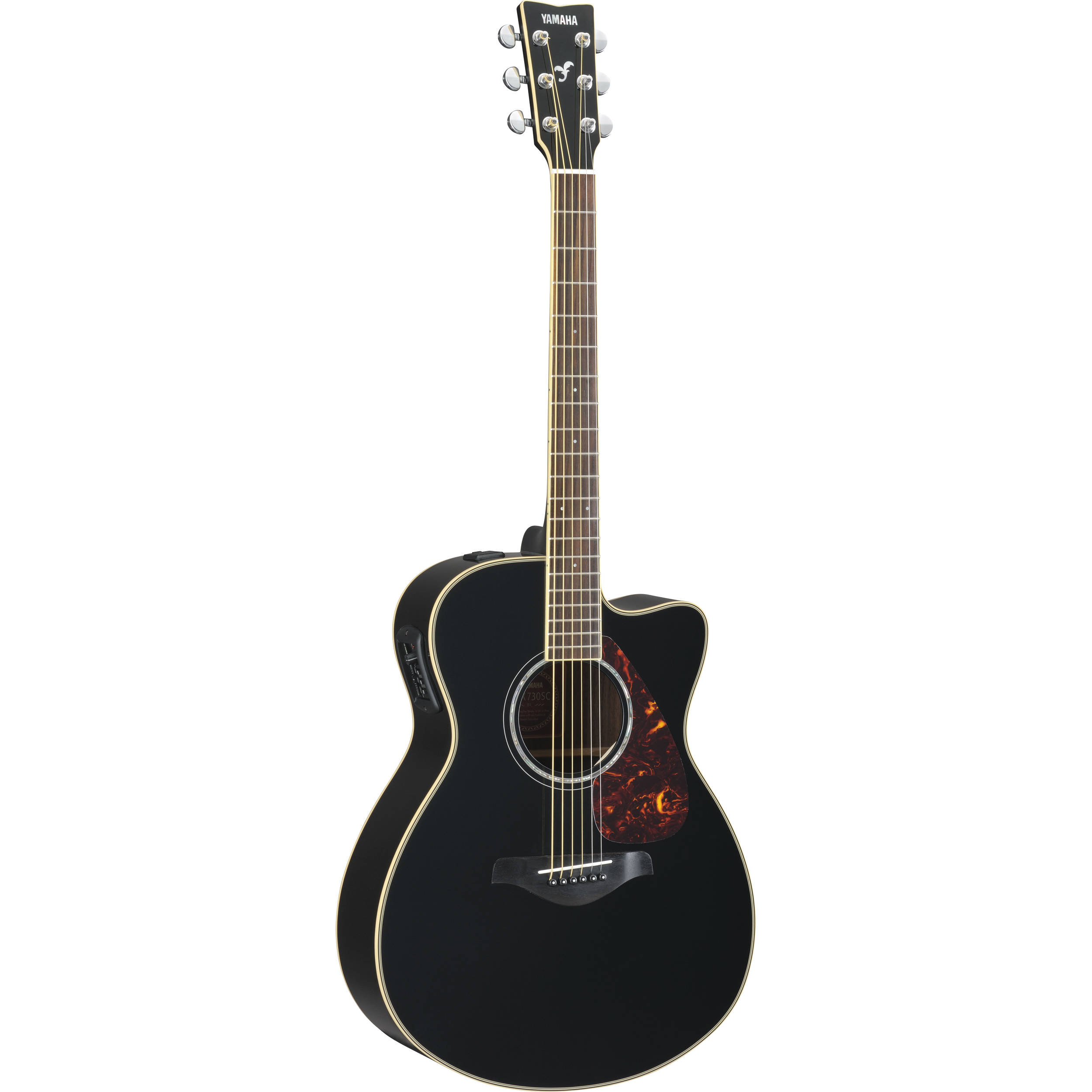 yamaha fsx730sc small body acoustic electric guitar fsx730sc bl