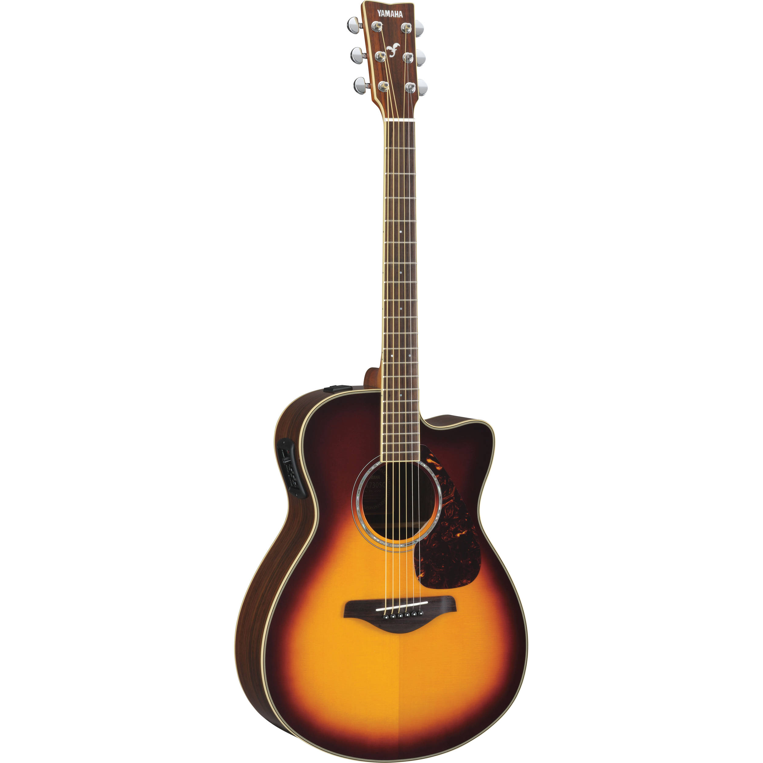 yamaha fsx730sc small body acoustic electric guitar fsx730sc bs. Black Bedroom Furniture Sets. Home Design Ideas