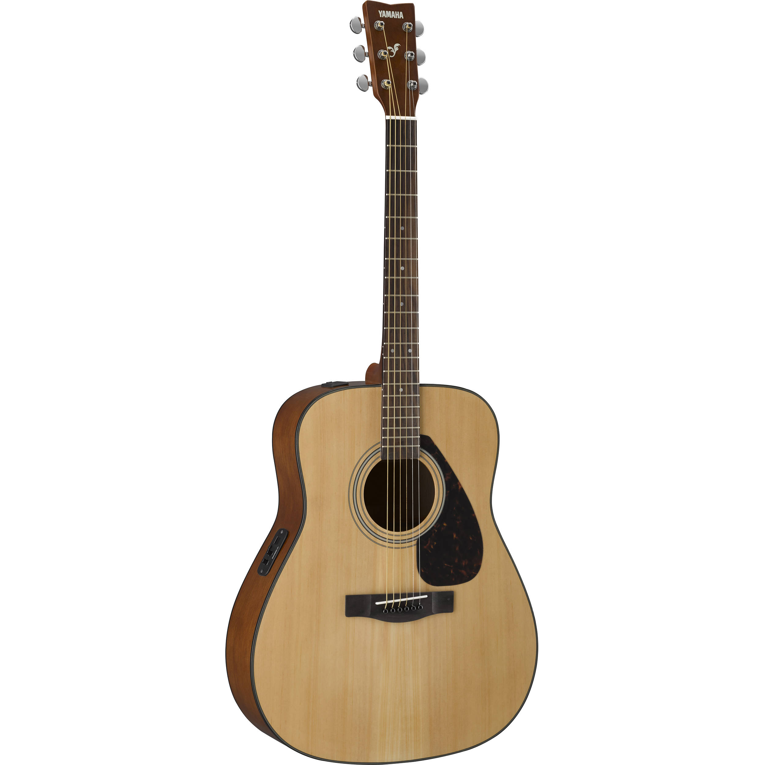 yamaha fx325a fx series acoustic electric guitar natural. Black Bedroom Furniture Sets. Home Design Ideas