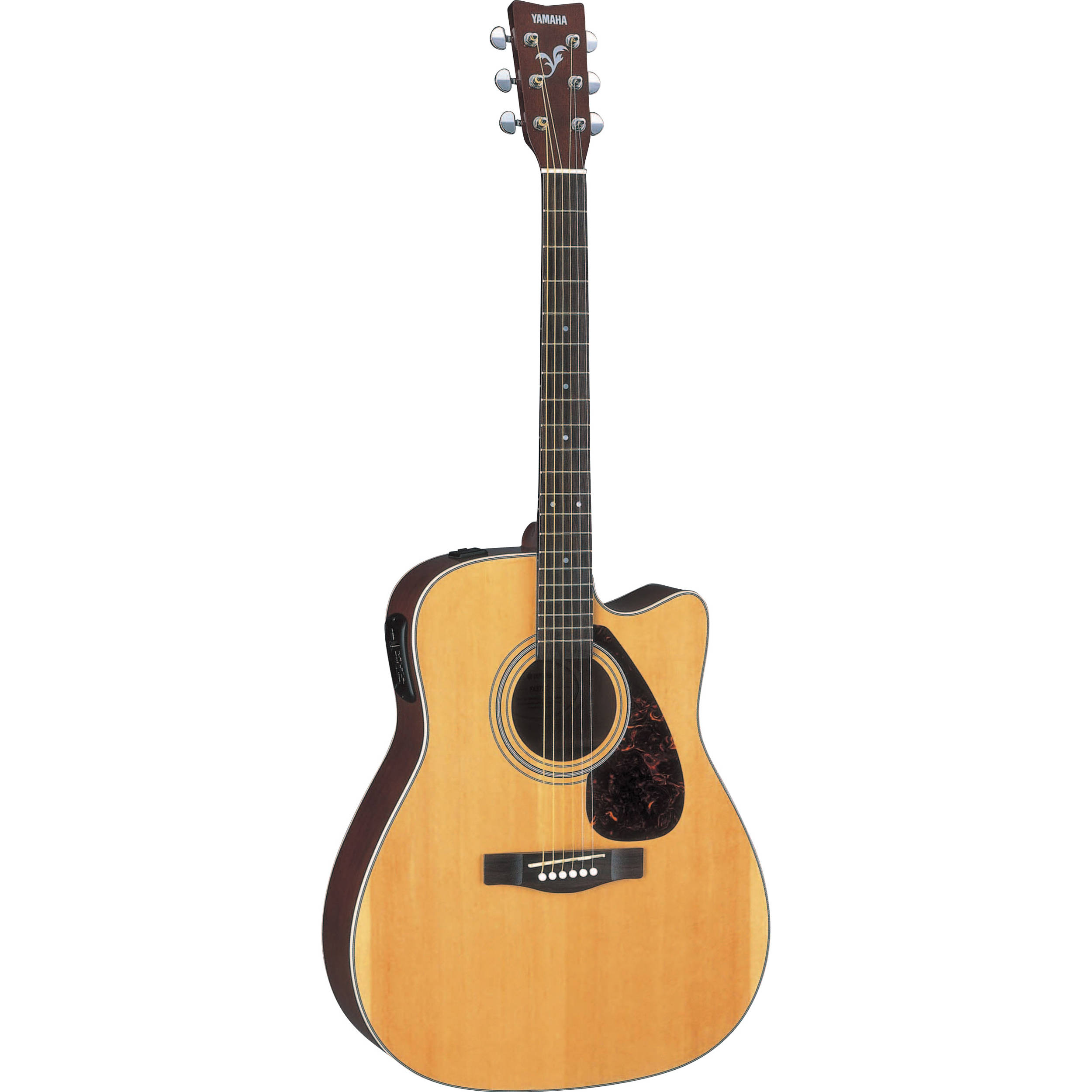 yamaha fx370c hc acoustic electric cutaway guitar fx370c. Black Bedroom Furniture Sets. Home Design Ideas