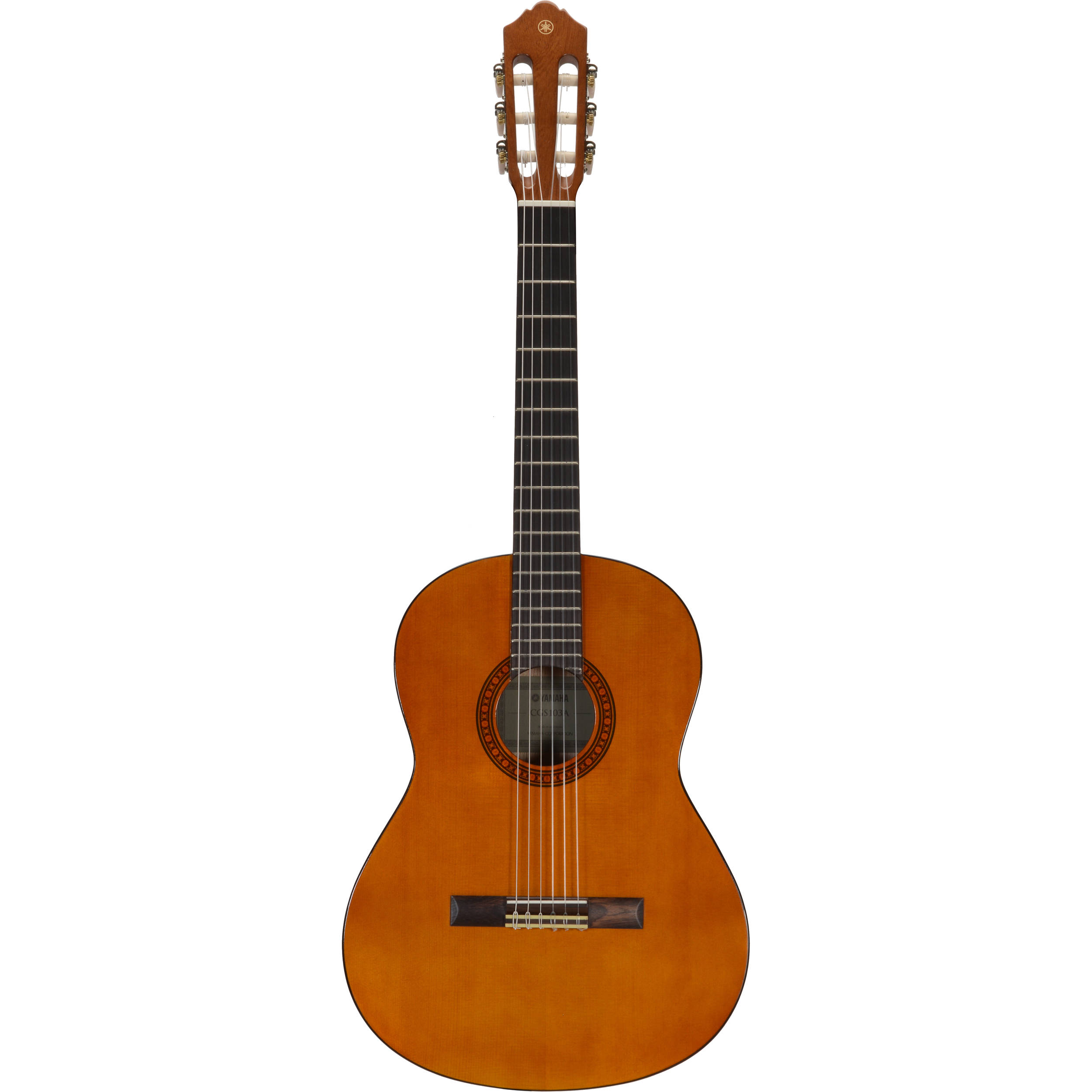 yamaha cgs103aii 3 4 size nylon string classical guitar. Black Bedroom Furniture Sets. Home Design Ideas