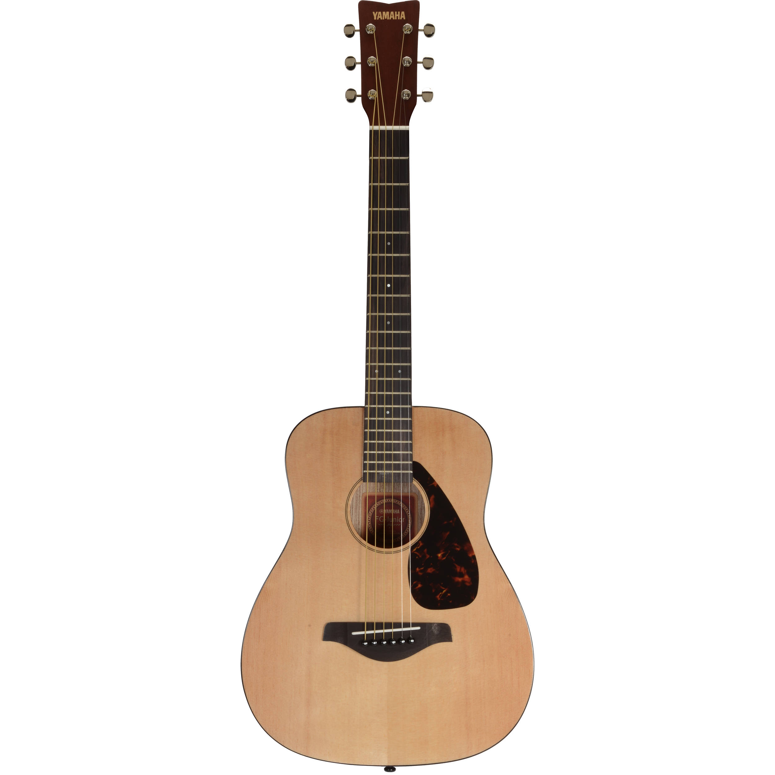 Yamaha jr2 3 4 size acoustic guitar natural jr2 b h photo for Yamaha jr2 3 4