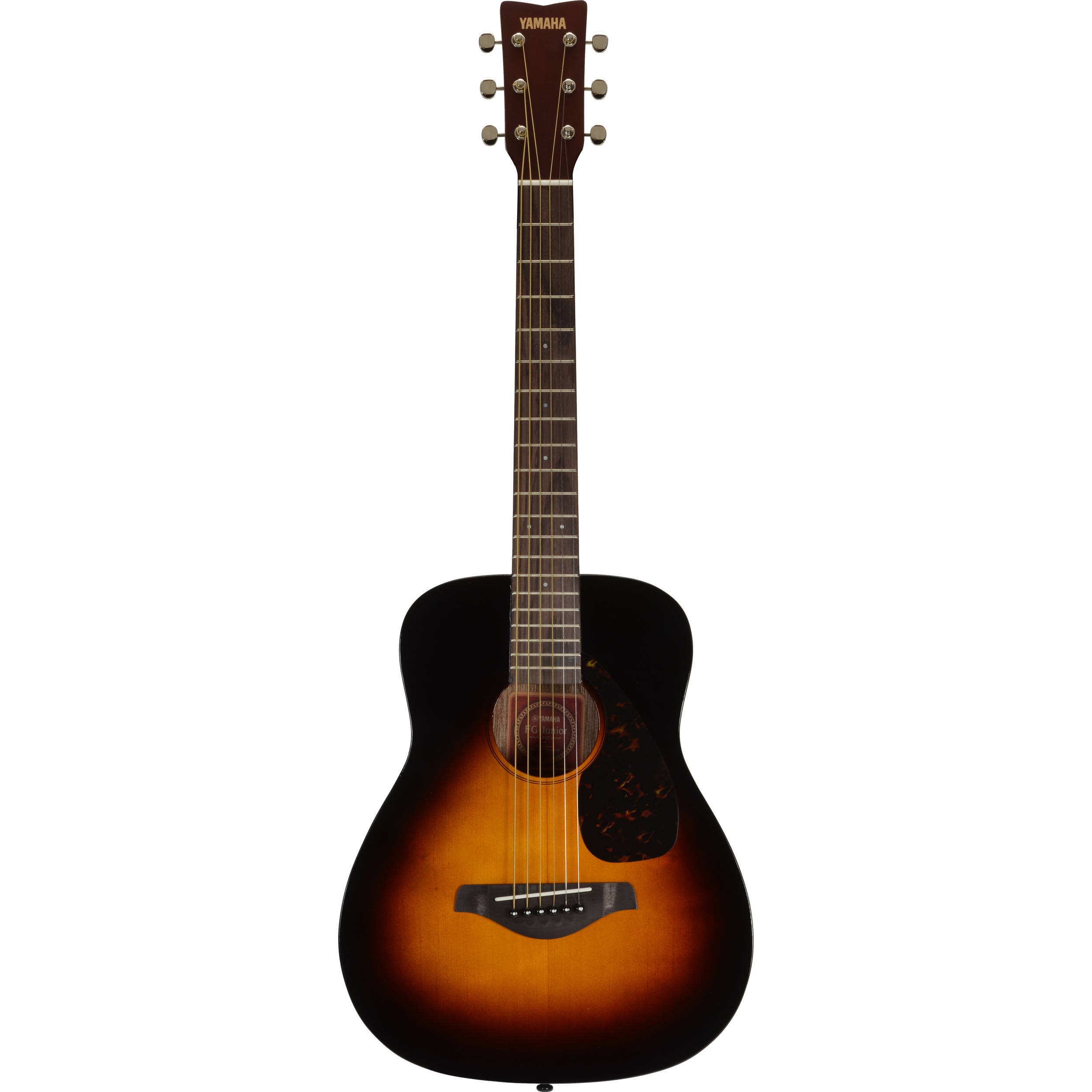 yamaha jr2 3 4 size acoustic guitar tobacco sunburst jr2 tbs